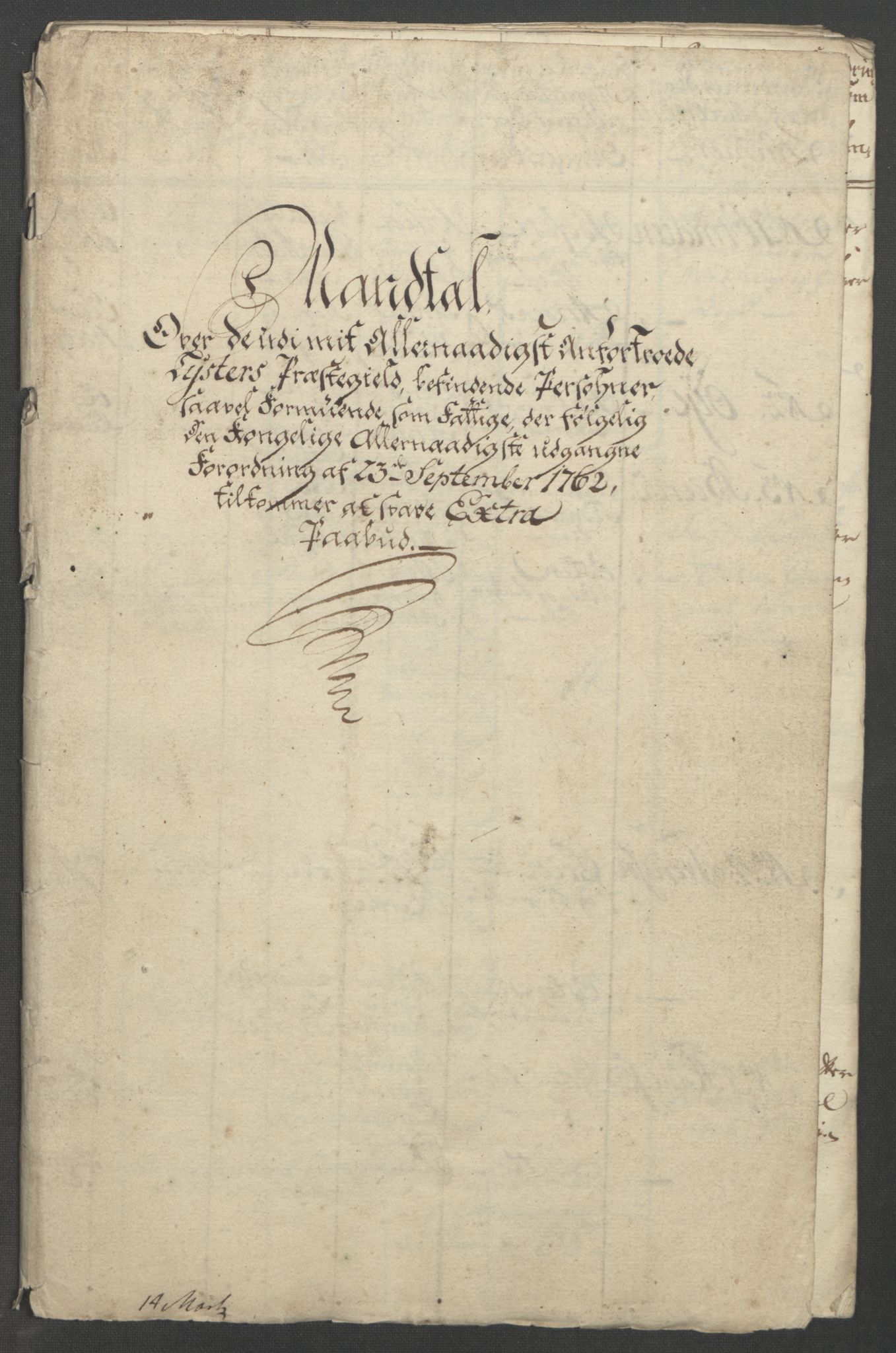 RA, Rentekammeret inntil 1814, Reviderte regnskaper, Fogderegnskap, R52/L3418: Ekstraskatten Sogn, 1762-1769, s. 89