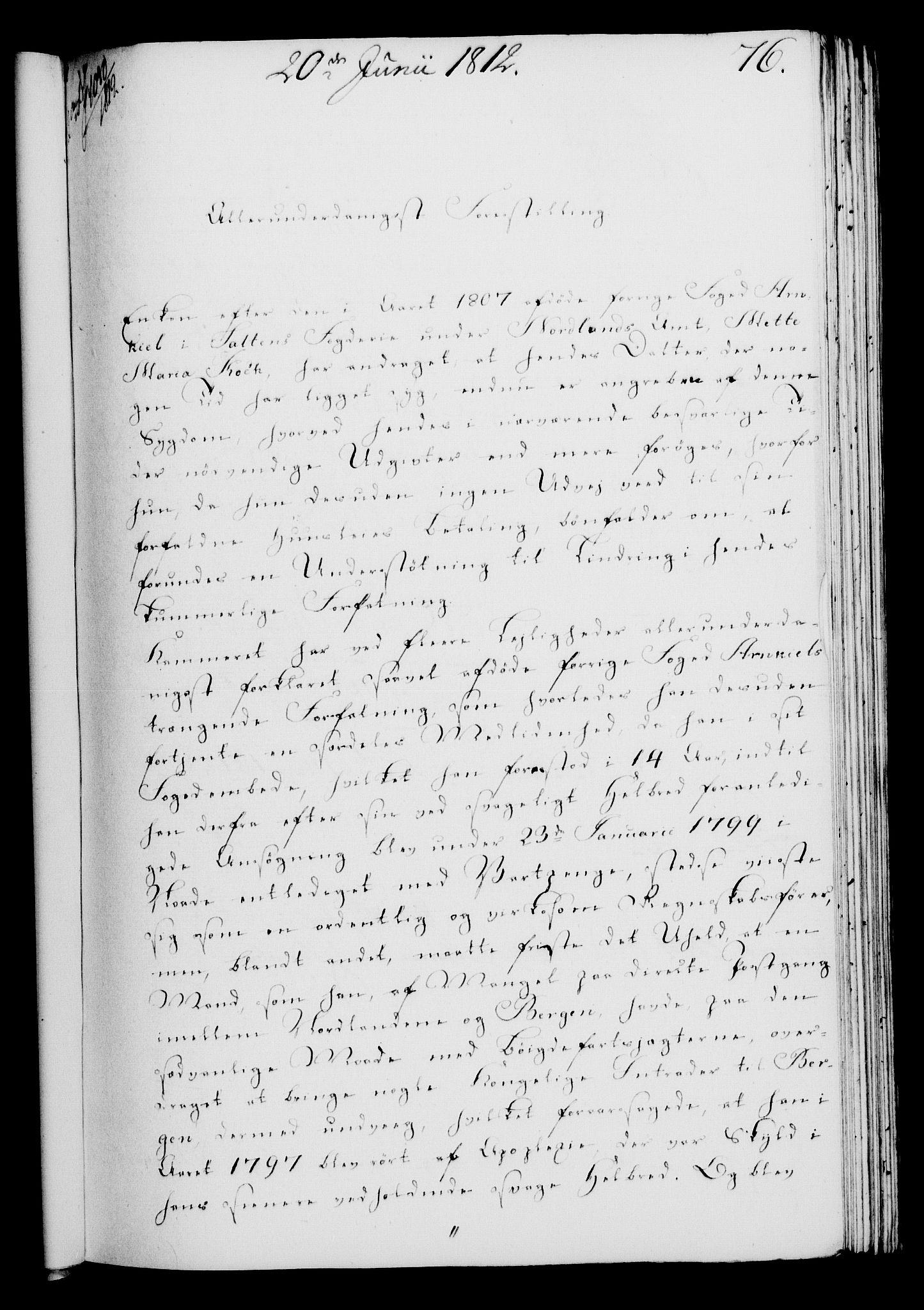 RA, Rentekammeret, Kammerkanselliet, G/Gf/Gfa/L0094: Norsk relasjons- og resolusjonsprotokoll (merket RK 52.94), 1812, s. 281