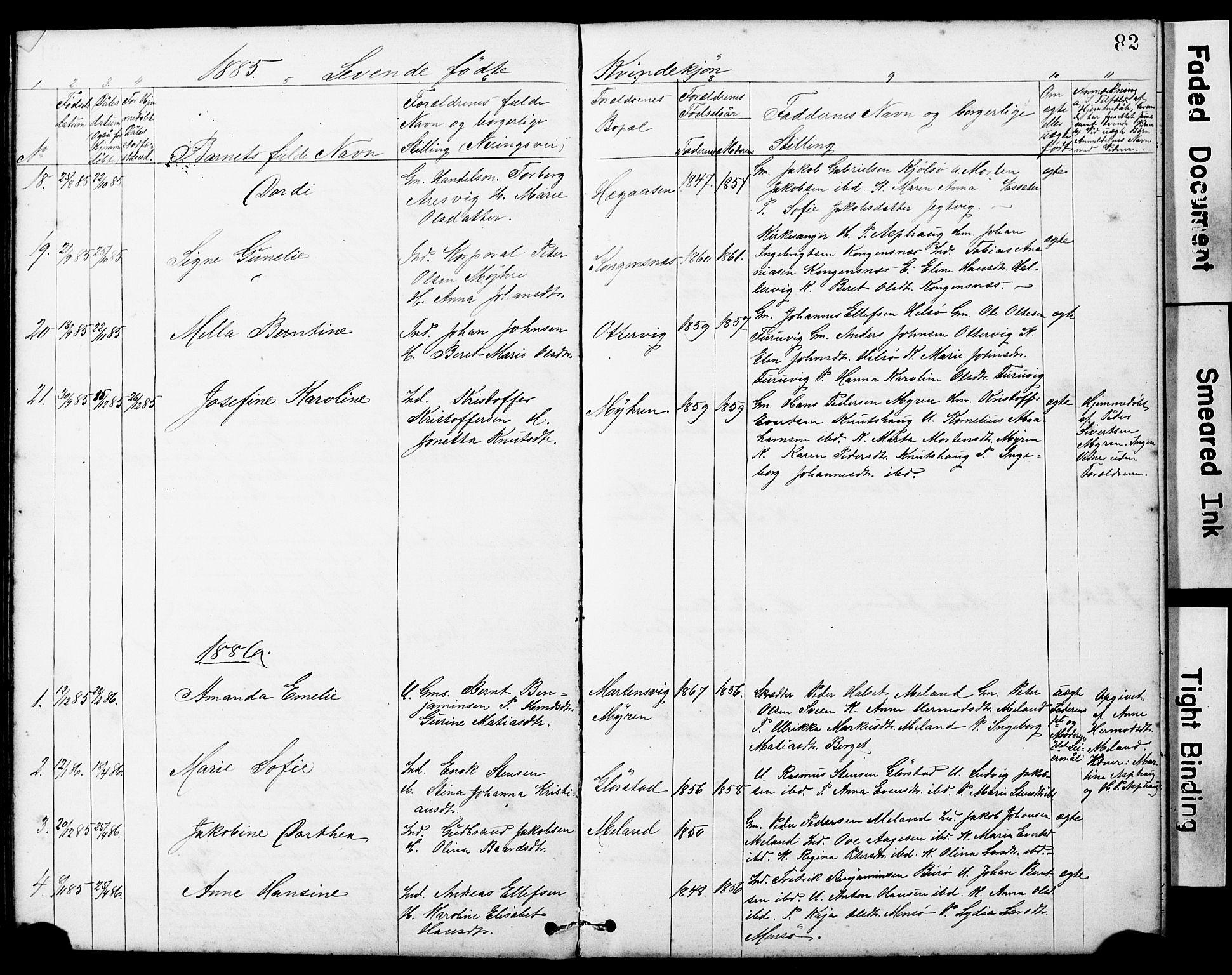 SAT, Ministerialprotokoller, klokkerbøker og fødselsregistre - Sør-Trøndelag, 634/L0541: Klokkerbok nr. 634C03, 1874-1891, s. 82