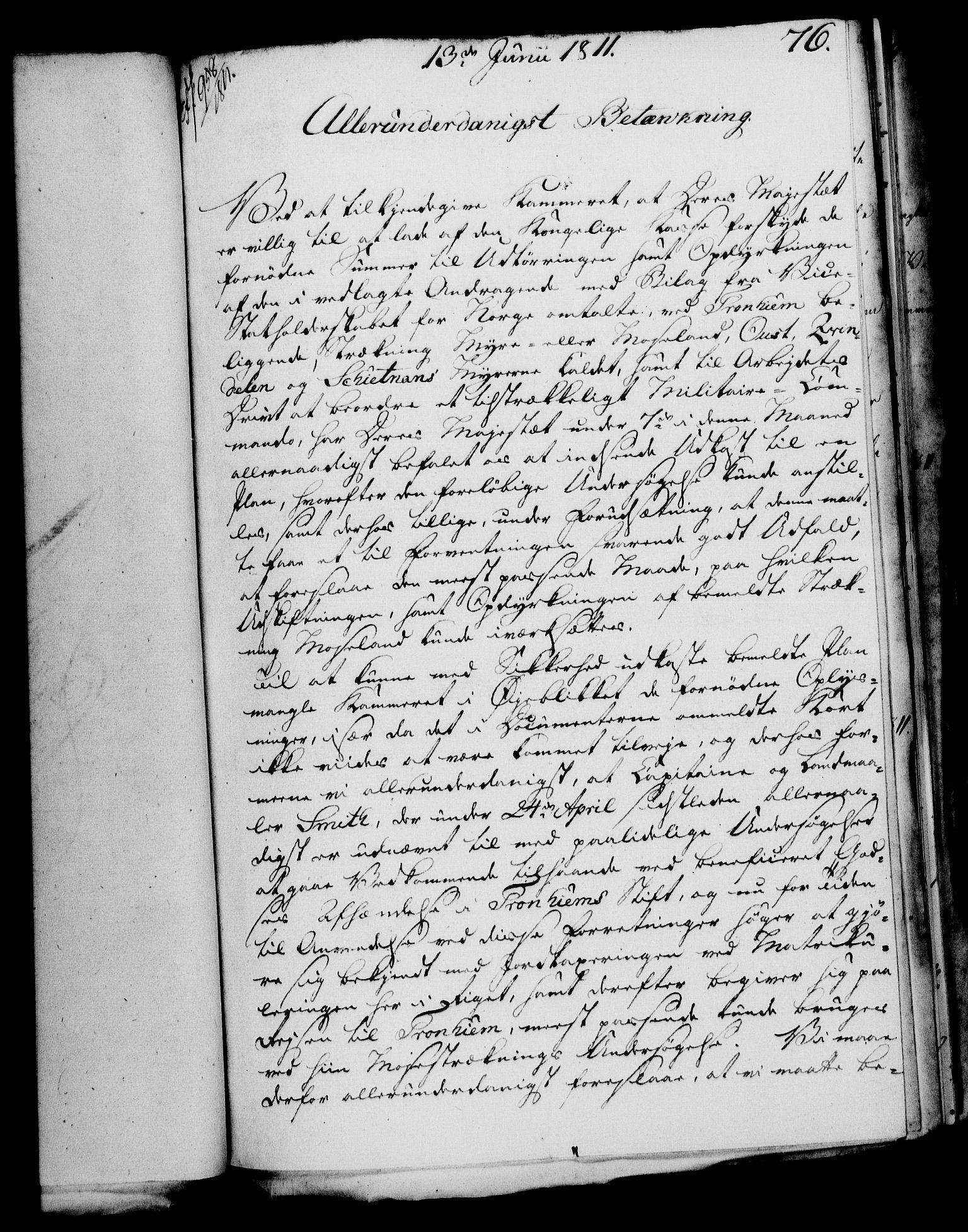RA, Rentekammeret, Kammerkanselliet, G/Gf/Gfa/L0093: Norsk relasjons- og resolusjonsprotokoll (merket RK 52.93), 1811, s. 308