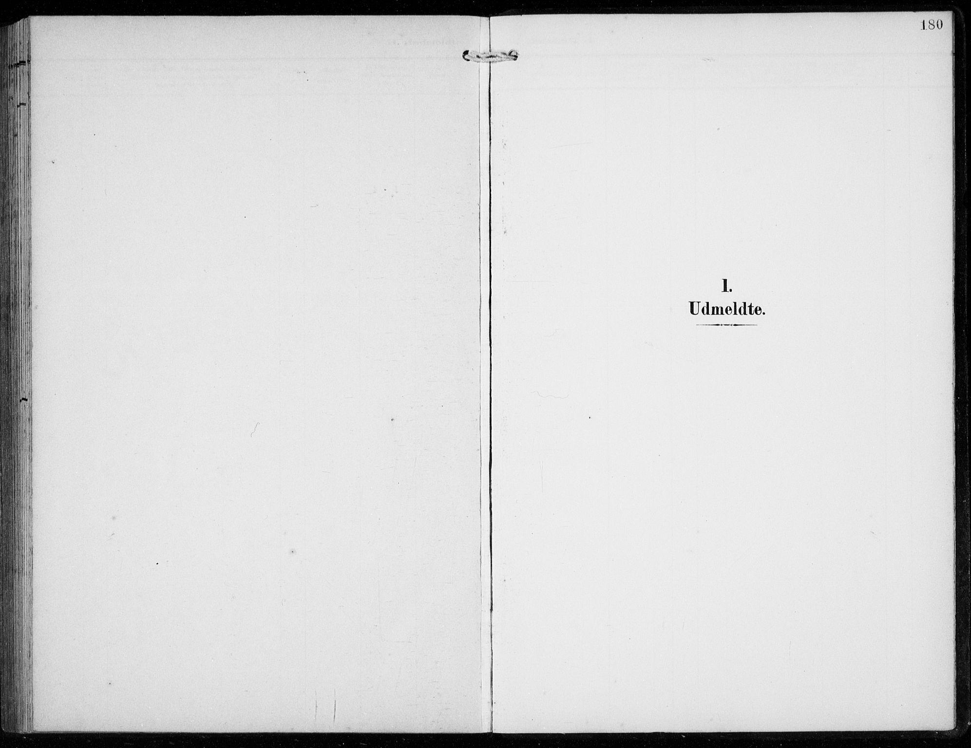SAB, Ullensvang Sokneprestembete, H/Hab: Klokkerbok nr. F  1, 1902-1935, s. 180