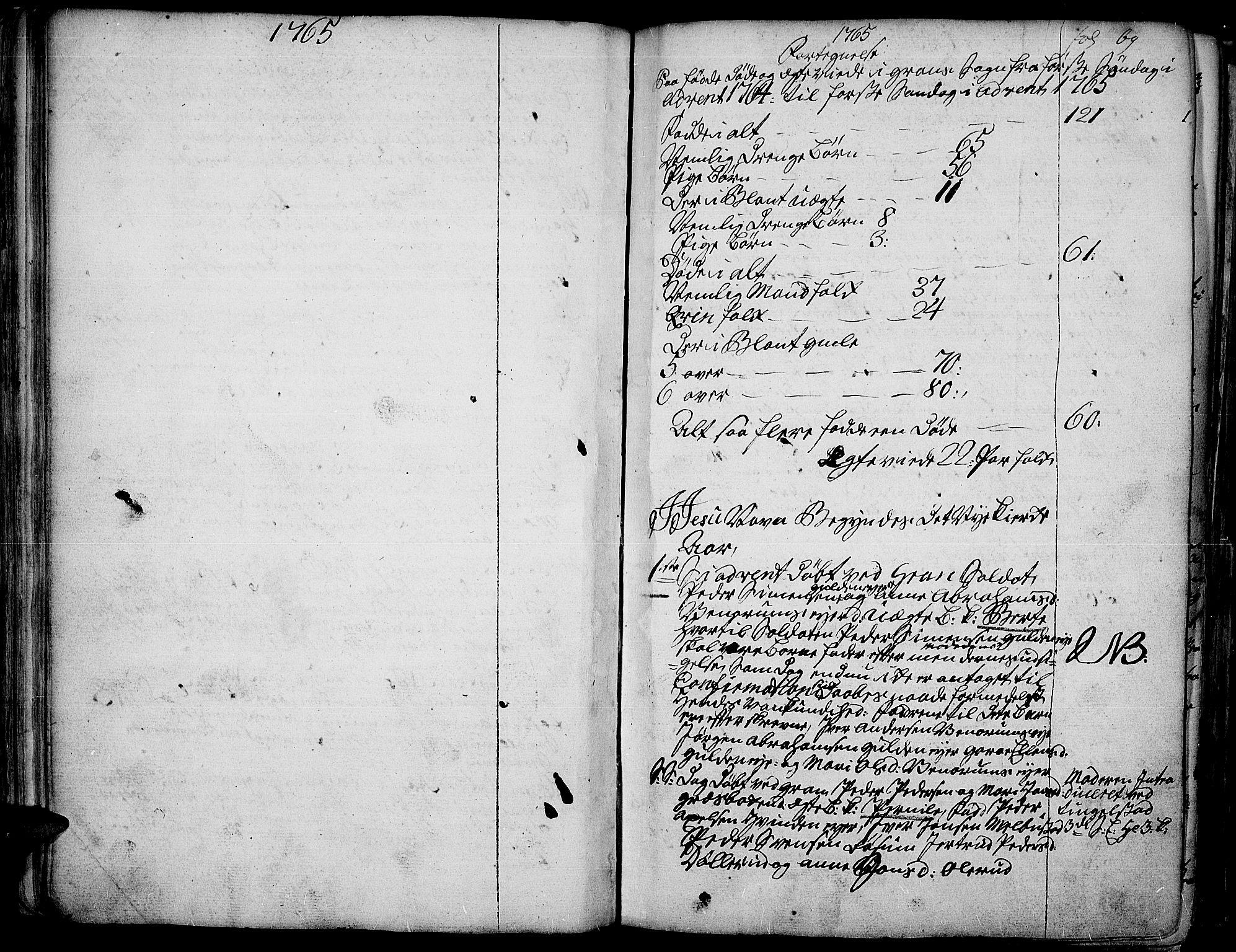SAH, Gran prestekontor, Ministerialbok nr. 4, 1759-1775, s. 69