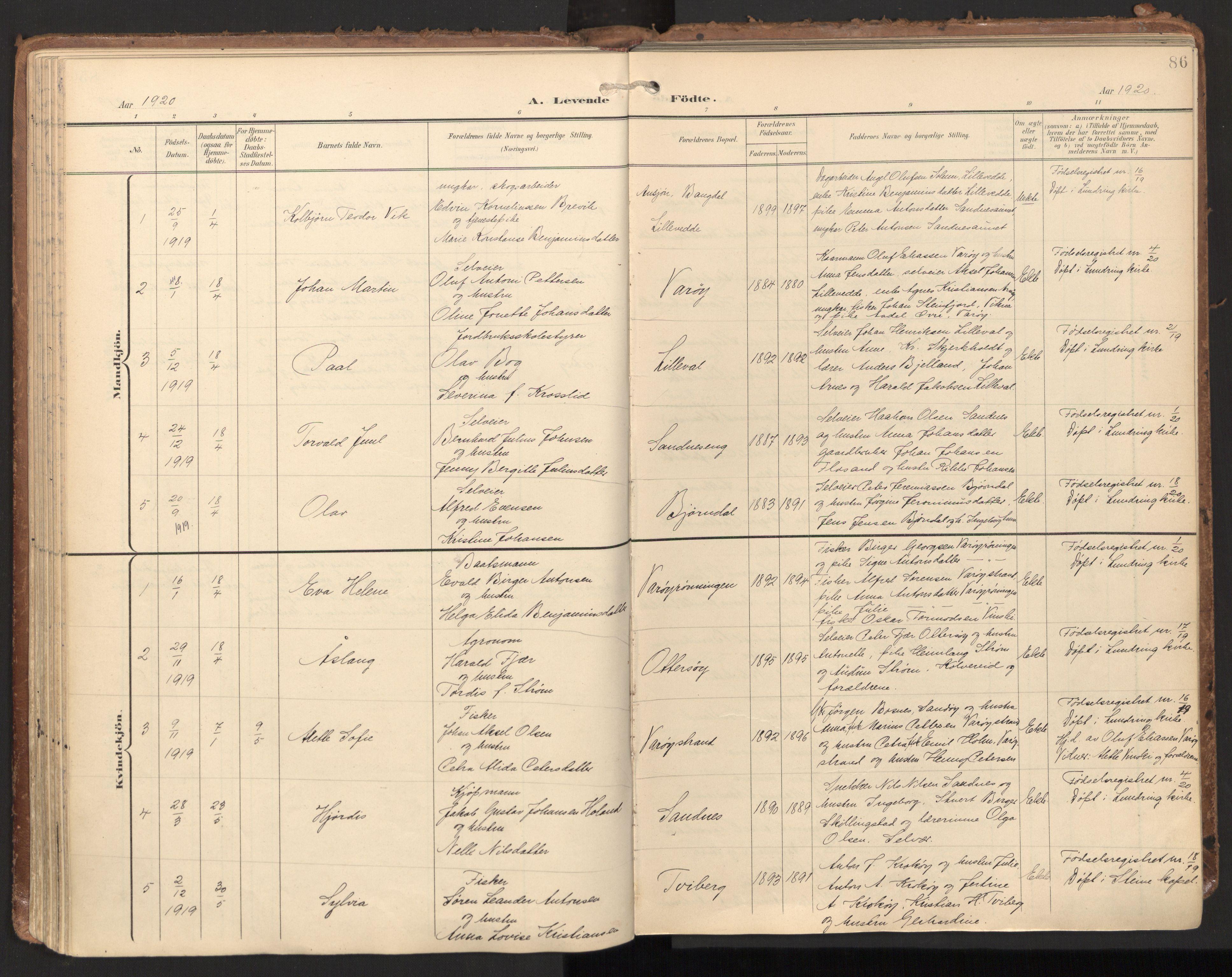SAT, Ministerialprotokoller, klokkerbøker og fødselsregistre - Nord-Trøndelag, 784/L0677: Ministerialbok nr. 784A12, 1900-1920, s. 86