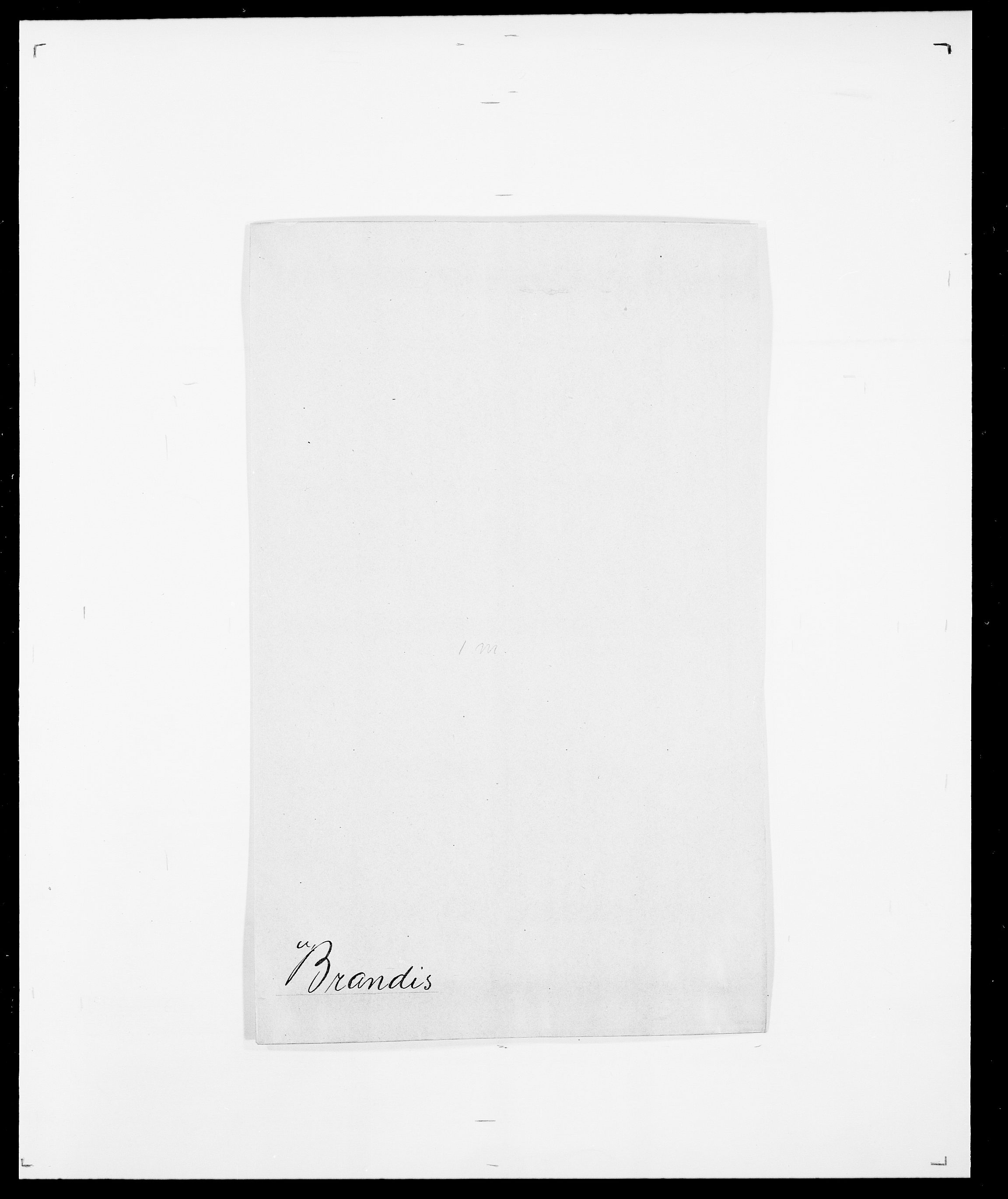 SAO, Delgobe, Charles Antoine - samling, D/Da/L0006: Brambani - Brønø, s. 20
