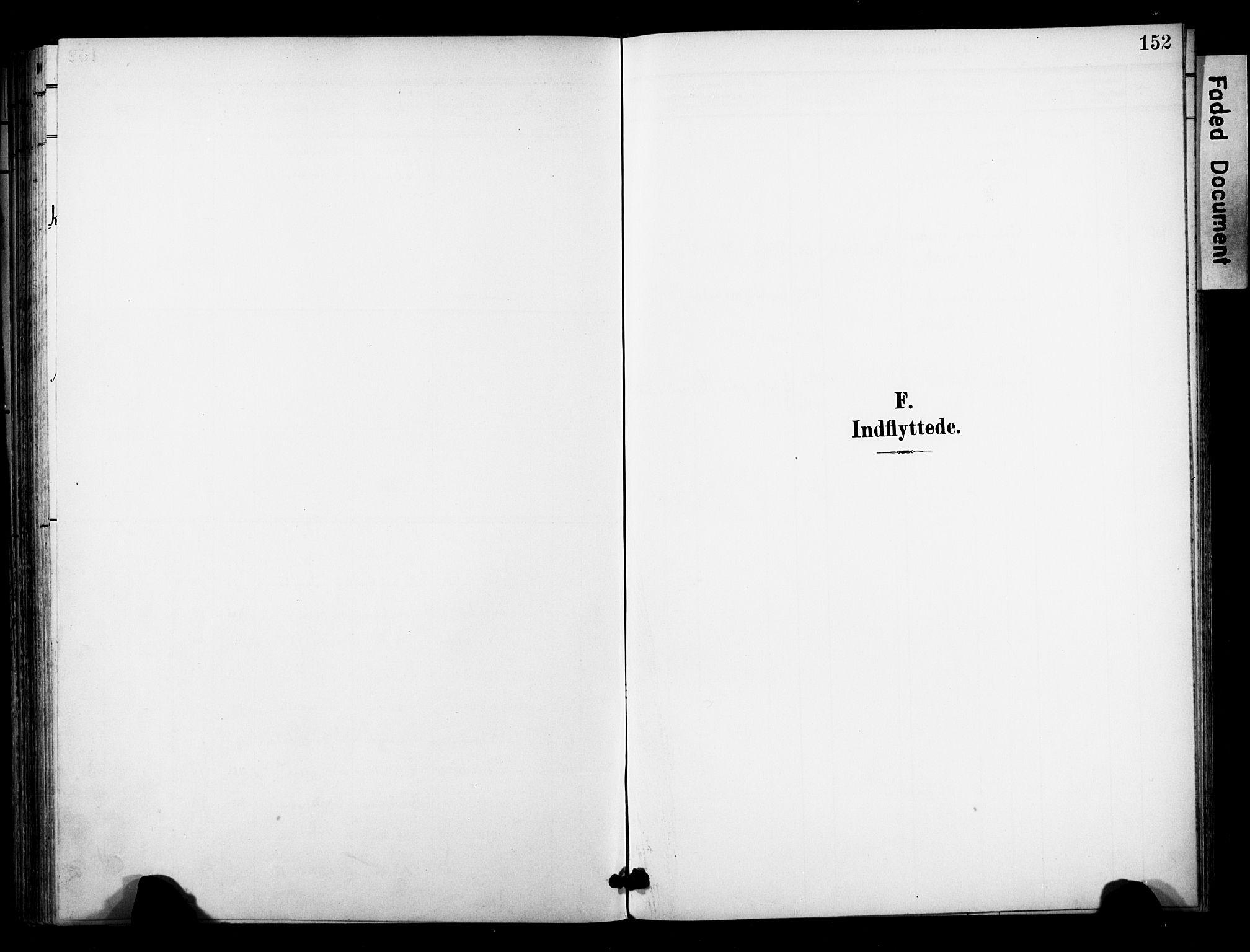 SAKO, Bø kirkebøker, F/Fa/L0012: Ministerialbok nr. 12, 1900-1908, s. 152