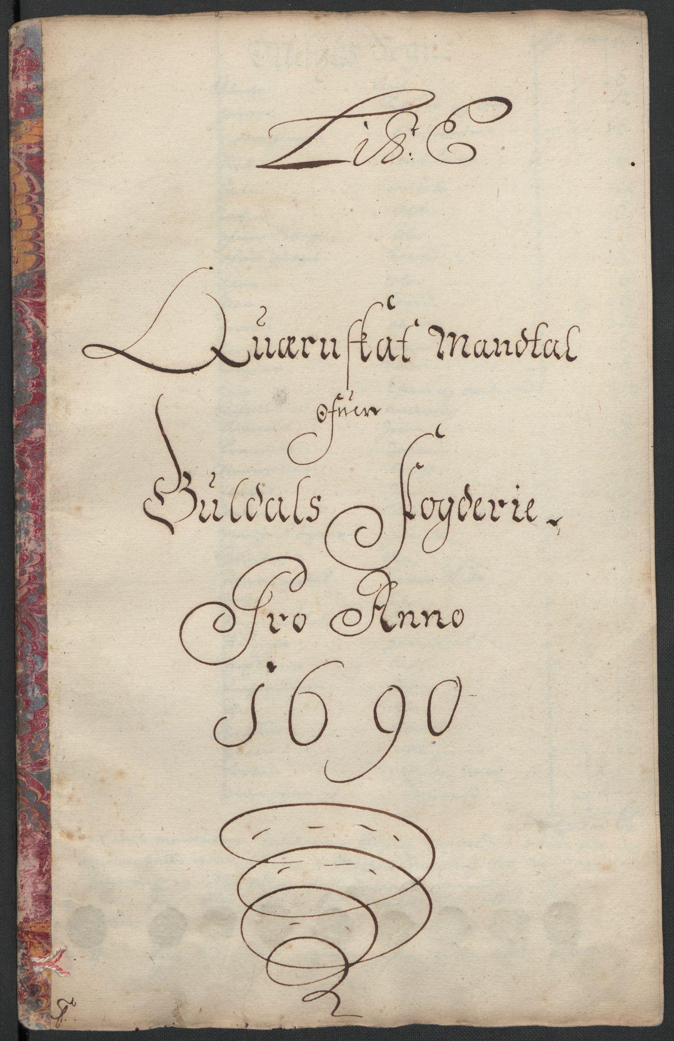 RA, Rentekammeret inntil 1814, Reviderte regnskaper, Fogderegnskap, R59/L3940: Fogderegnskap Gauldal, 1689-1690, s. 253