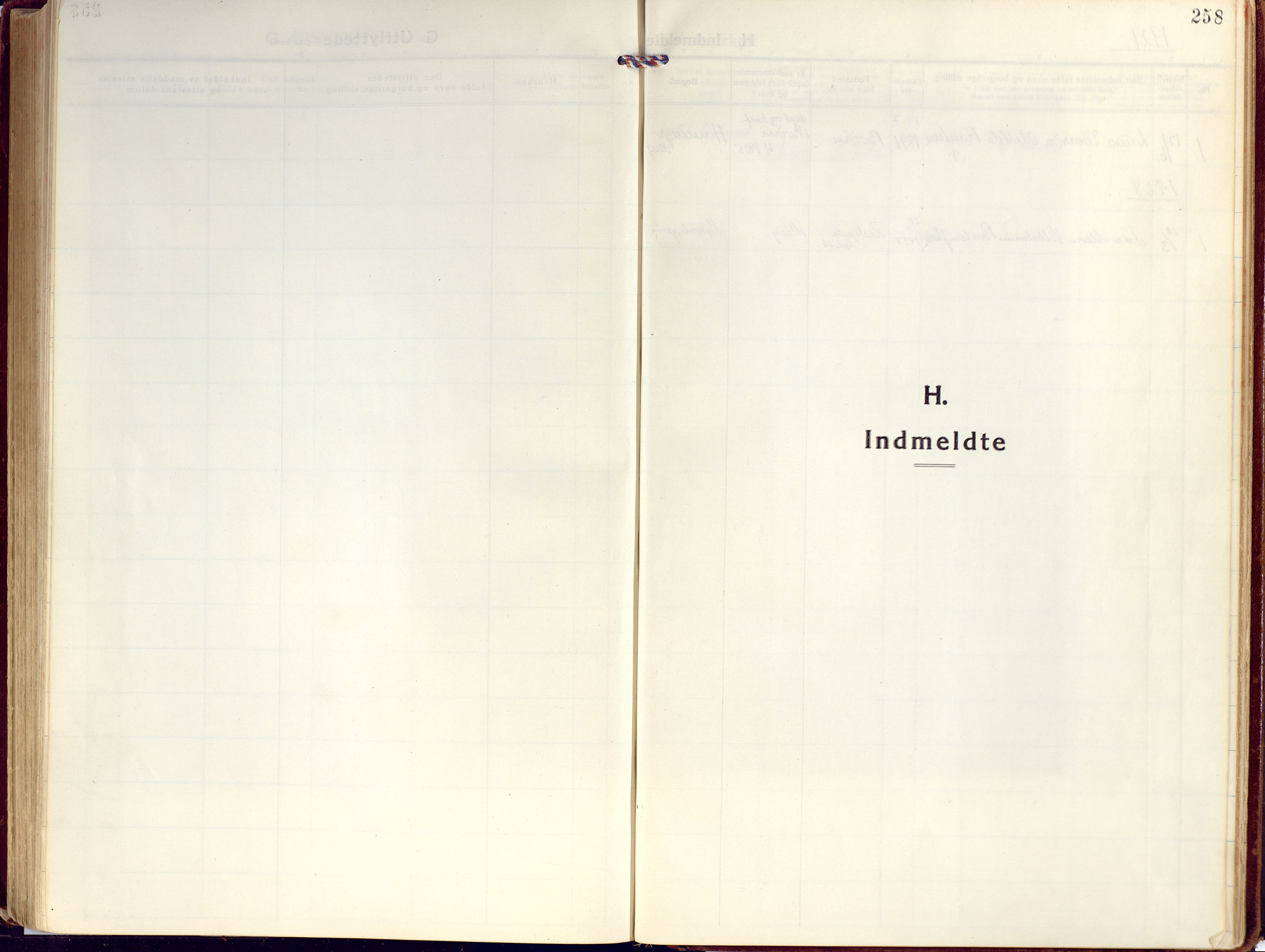 SATØ, Kjelvik/Nordkapp sokneprestkontor, H/Ha/L0002kirke: Ministerialbok nr. 2, 1920-1929, s. 258