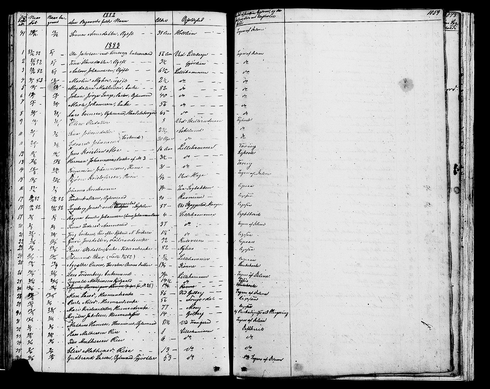 SAH, Fåberg prestekontor, Klokkerbok nr. 7, 1856-1891, s. 1058-1059