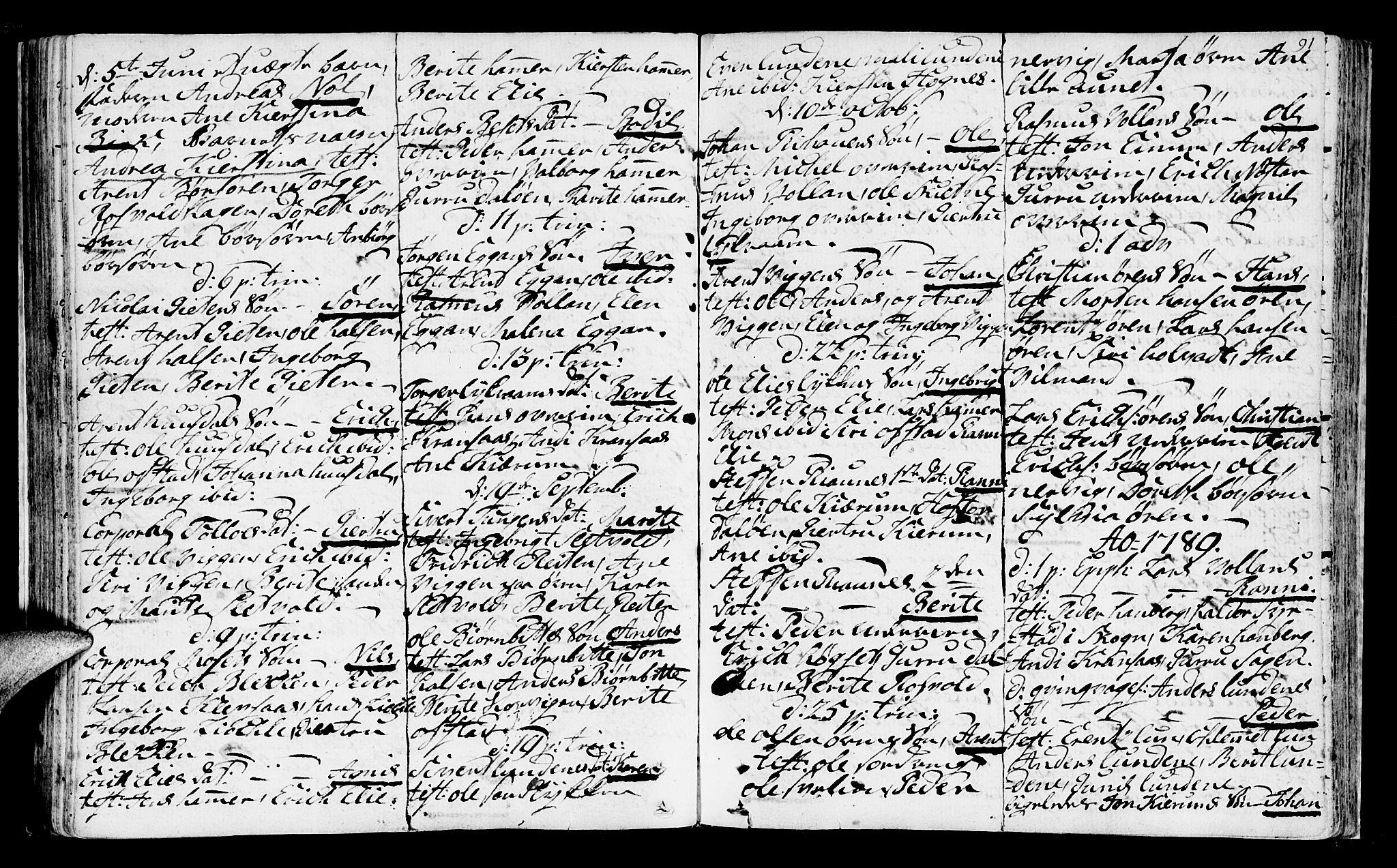 SAT, Ministerialprotokoller, klokkerbøker og fødselsregistre - Sør-Trøndelag, 665/L0768: Ministerialbok nr. 665A03, 1754-1803, s. 91