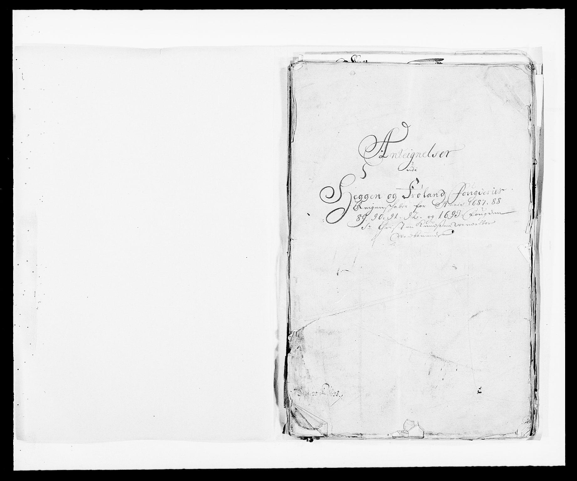RA, Rentekammeret inntil 1814, Reviderte regnskaper, Fogderegnskap, R06/L0283: Fogderegnskap Heggen og Frøland, 1691-1693, s. 425