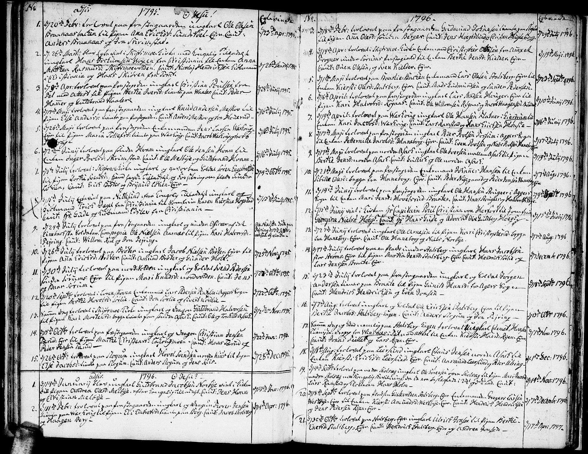 SAO, Skedsmo prestekontor Kirkebøker, F/Fa/L0006: Ministerialbok nr. I 6, 1767-1807