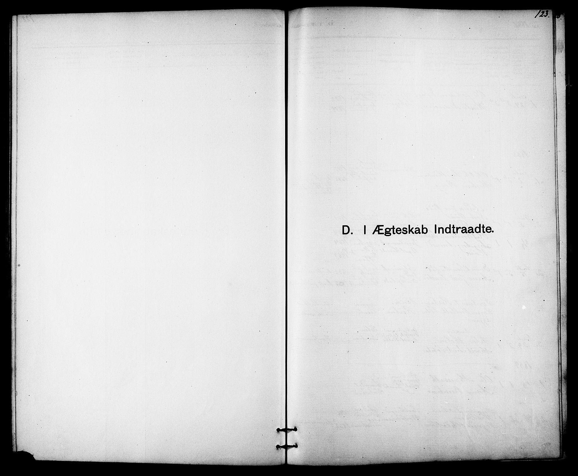 SAT, Ministerialprotokoller, klokkerbøker og fødselsregistre - Sør-Trøndelag, 613/L0395: Klokkerbok nr. 613C03, 1887-1909, s. 123