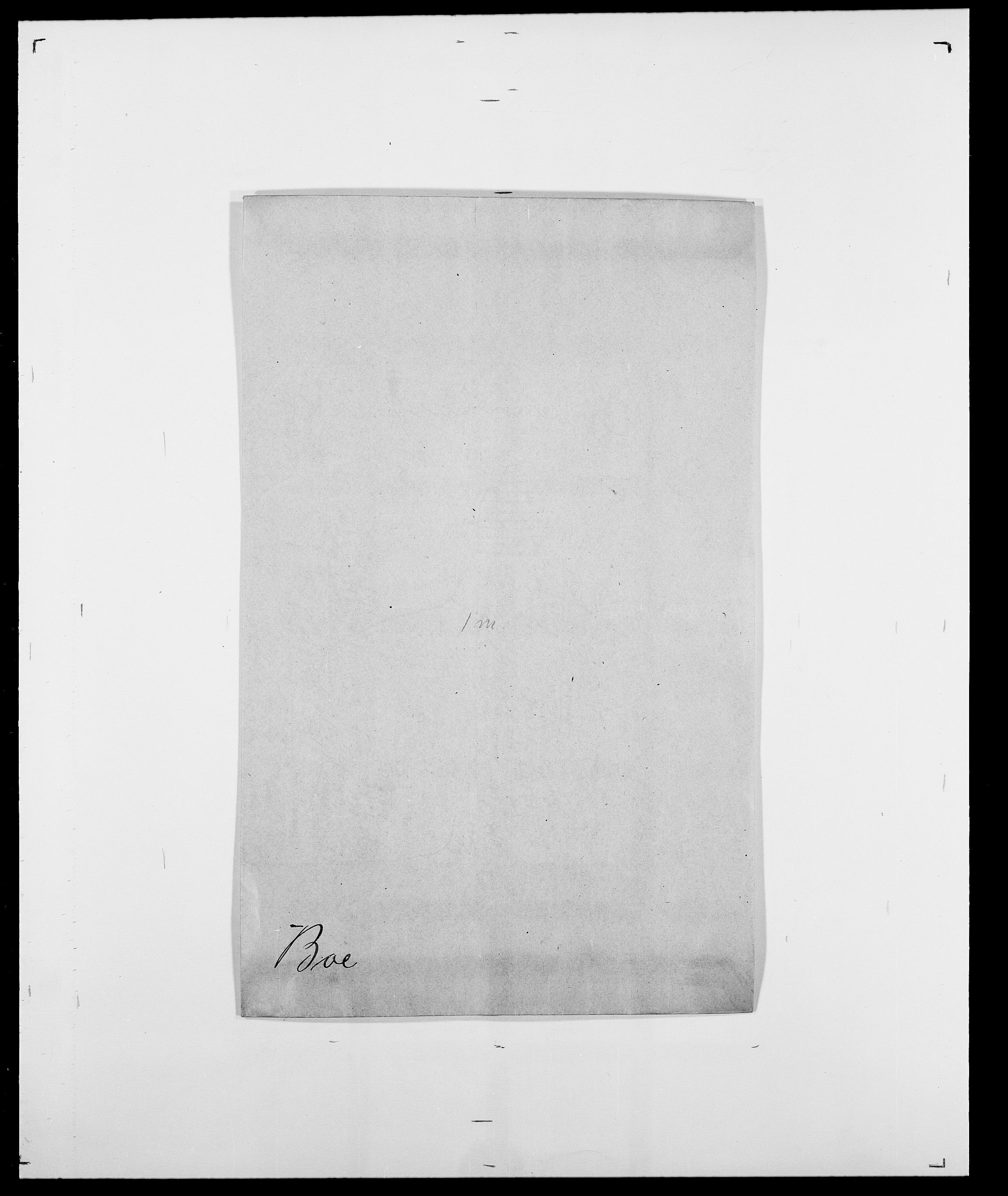 SAO, Delgobe, Charles Antoine - samling, D/Da/L0005: Boalth - Brahm, s. 34