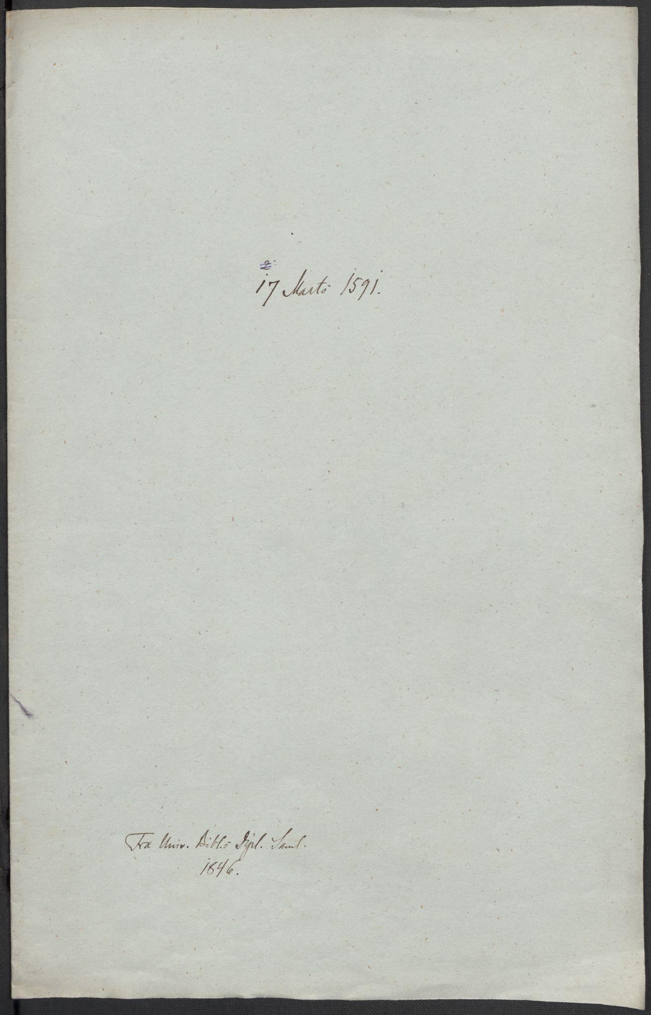 RA, Riksarkivets diplomsamling, F02/L0093: Dokumenter, 1591, s. 55