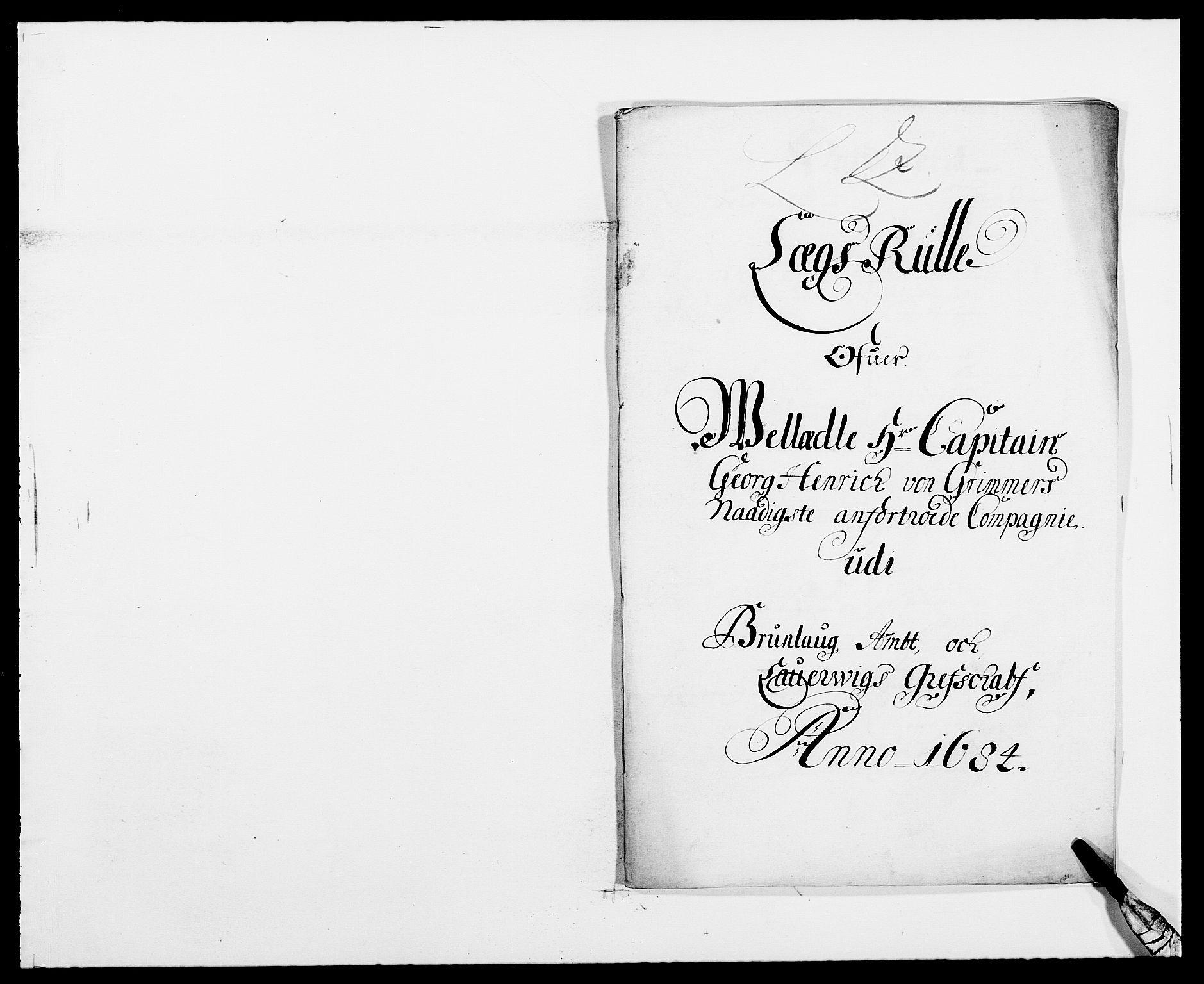 RA, Rentekammeret inntil 1814, Reviderte regnskaper, Fogderegnskap, R33/L1969: Fogderegnskap Larvik grevskap, 1675-1687, s. 407
