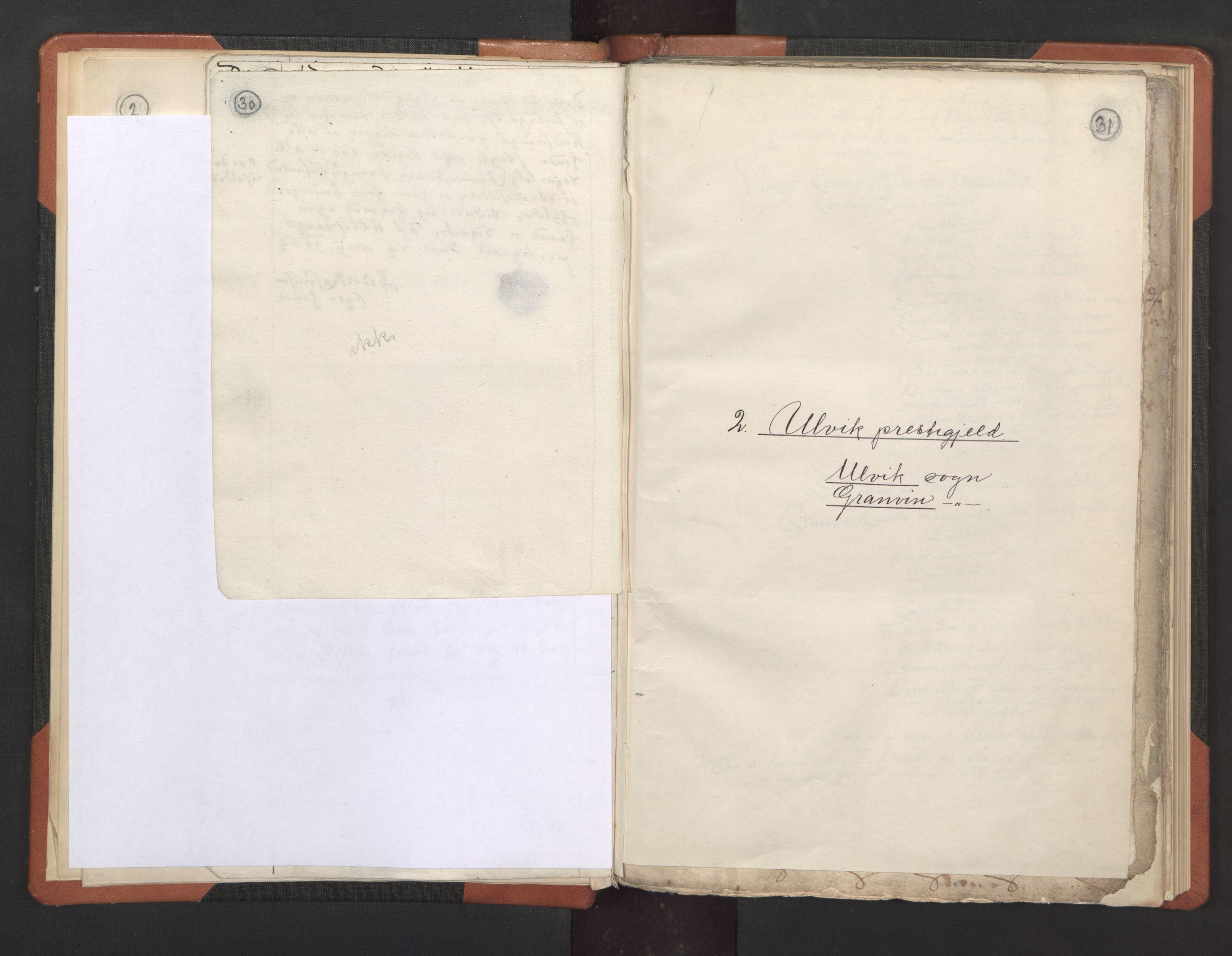 RA, Sogneprestenes manntall 1664-1666, nr. 21: Hardanger prosti, 1664-1666, s. 30-31