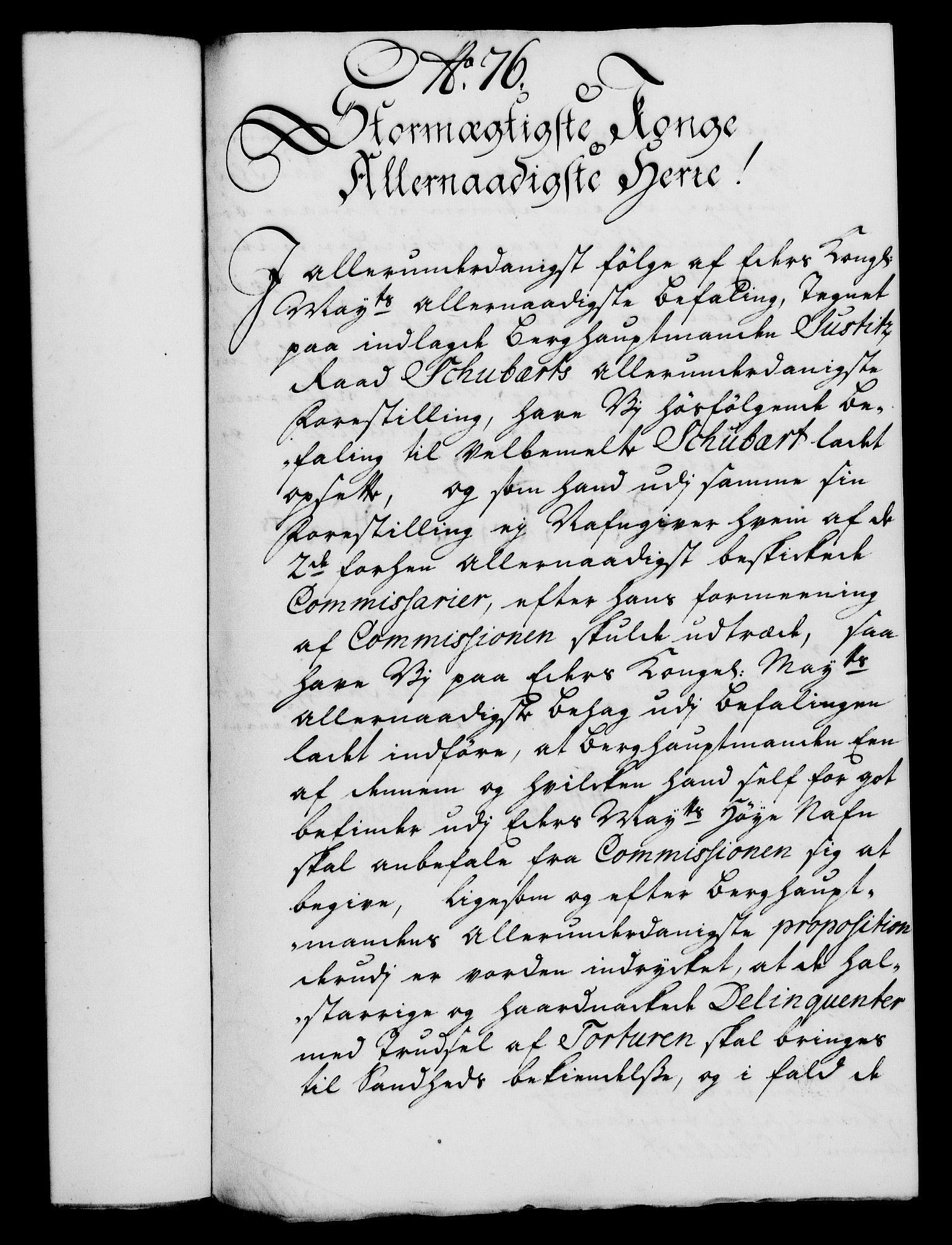 RA, Rentekammeret, Kammerkanselliet, G/Gf/Gfa/L0018: Norsk relasjons- og resolusjonsprotokoll (merket RK 52.18), 1735, s. 510