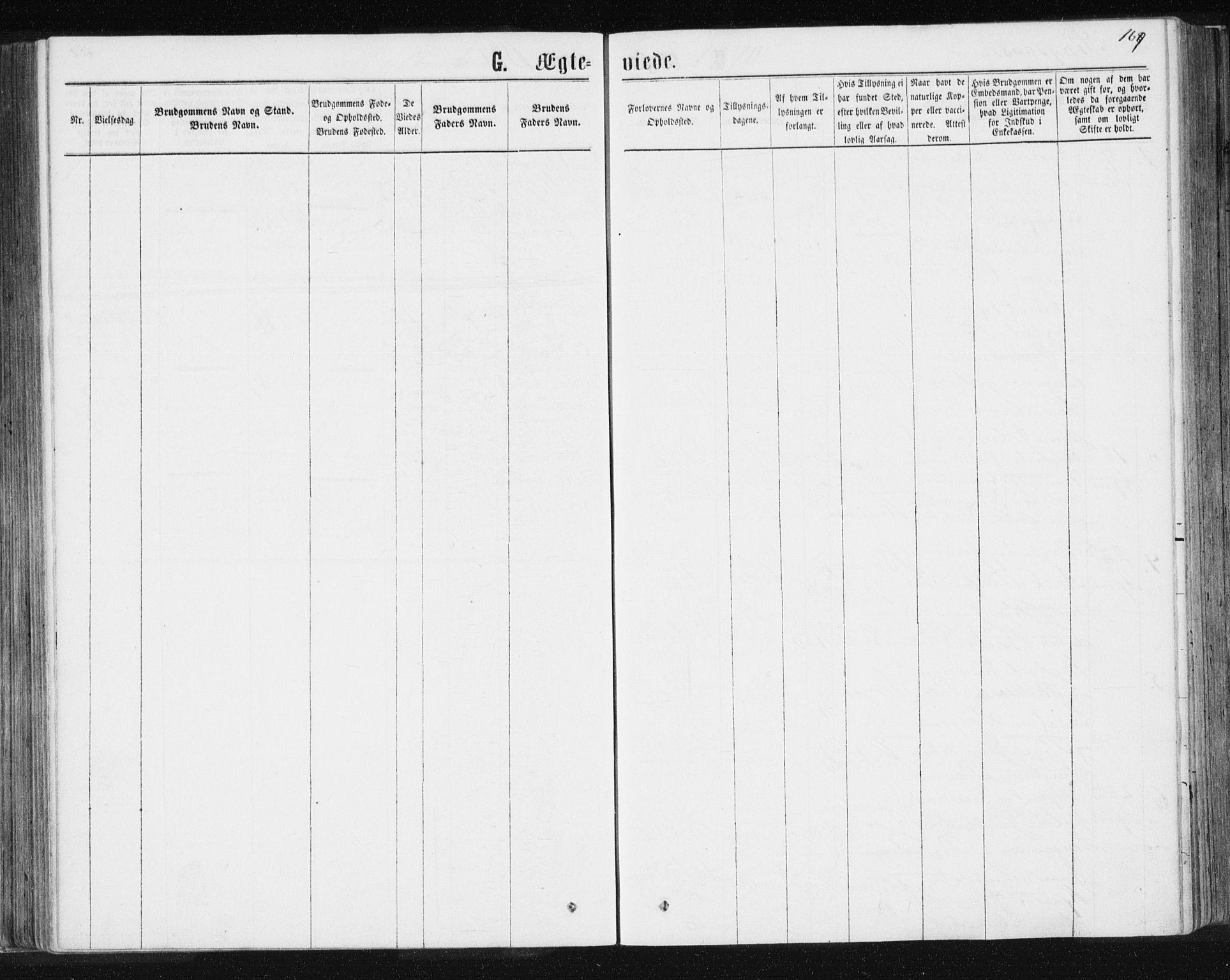 SAT, Ministerialprotokoller, klokkerbøker og fødselsregistre - Sør-Trøndelag, 685/L0969: Ministerialbok nr. 685A08 /1, 1870-1878, s. 169