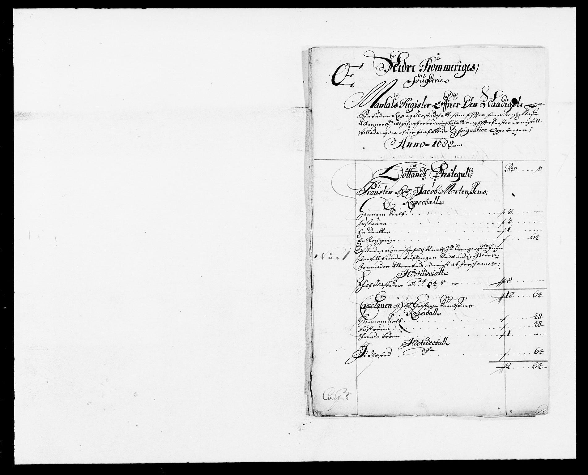 RA, Rentekammeret inntil 1814, Reviderte regnskaper, Fogderegnskap, R11/L0573: Fogderegnskap Nedre Romerike, 1679-1688, s. 101