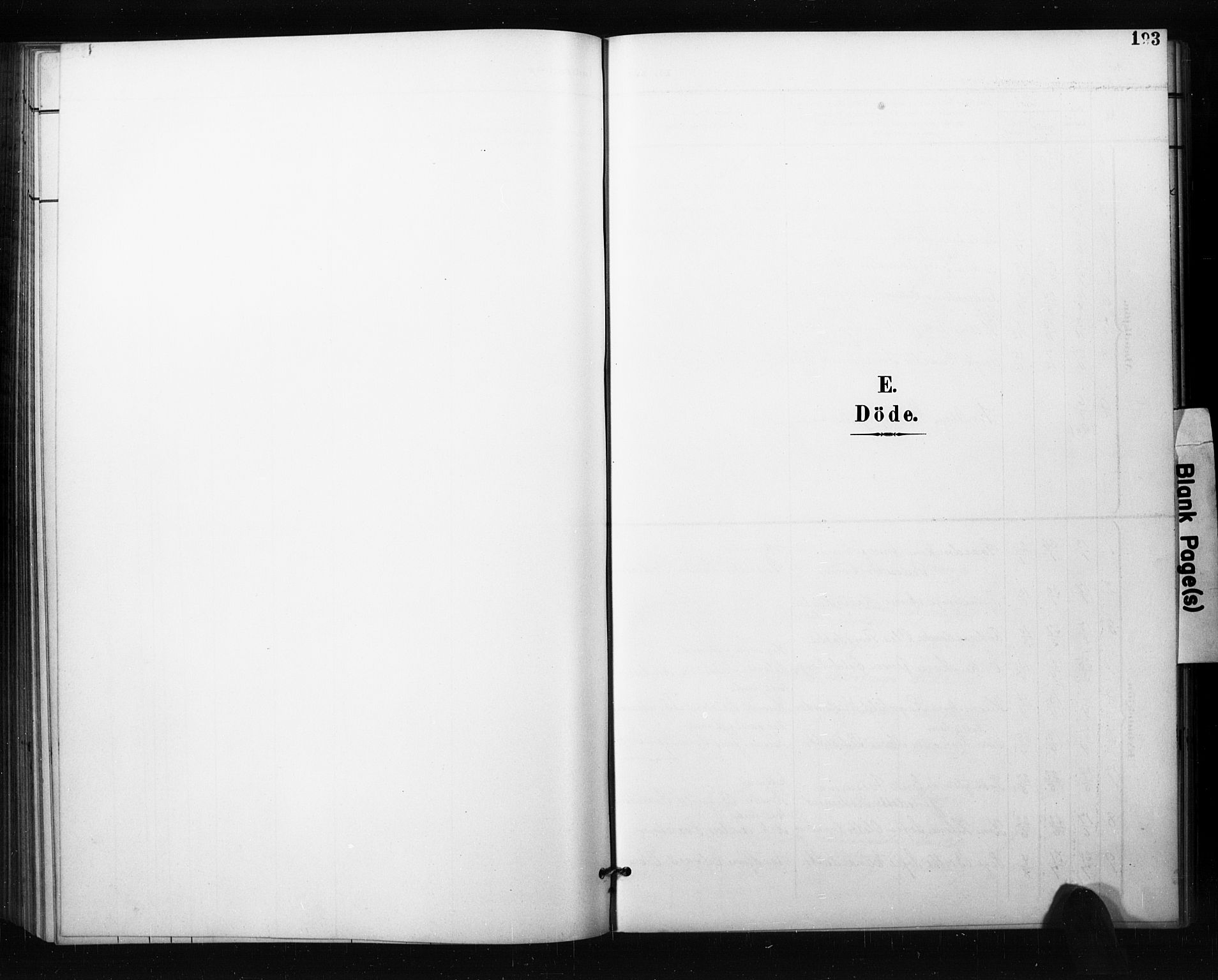 SAO, Aremark prestekontor Kirkebøker, G/Gb/L0001: Klokkerbok nr. II 1, 1901-1927, s. 193