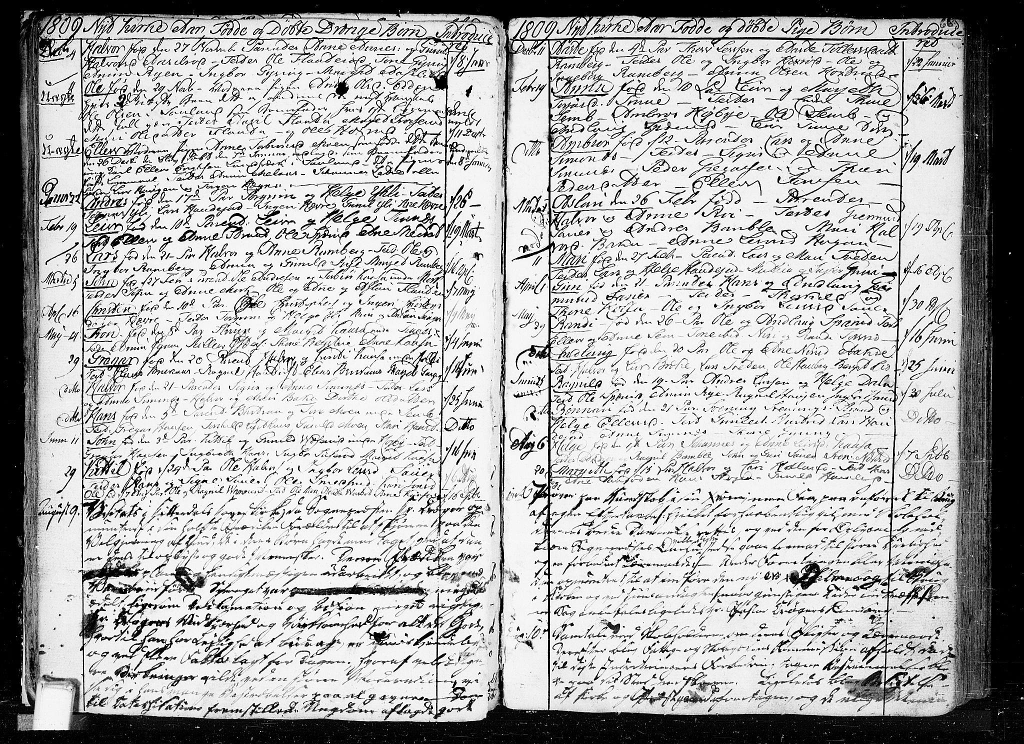 SAKO, Heddal kirkebøker, F/Fa/L0004: Ministerialbok nr. I 4, 1784-1814, s. 66
