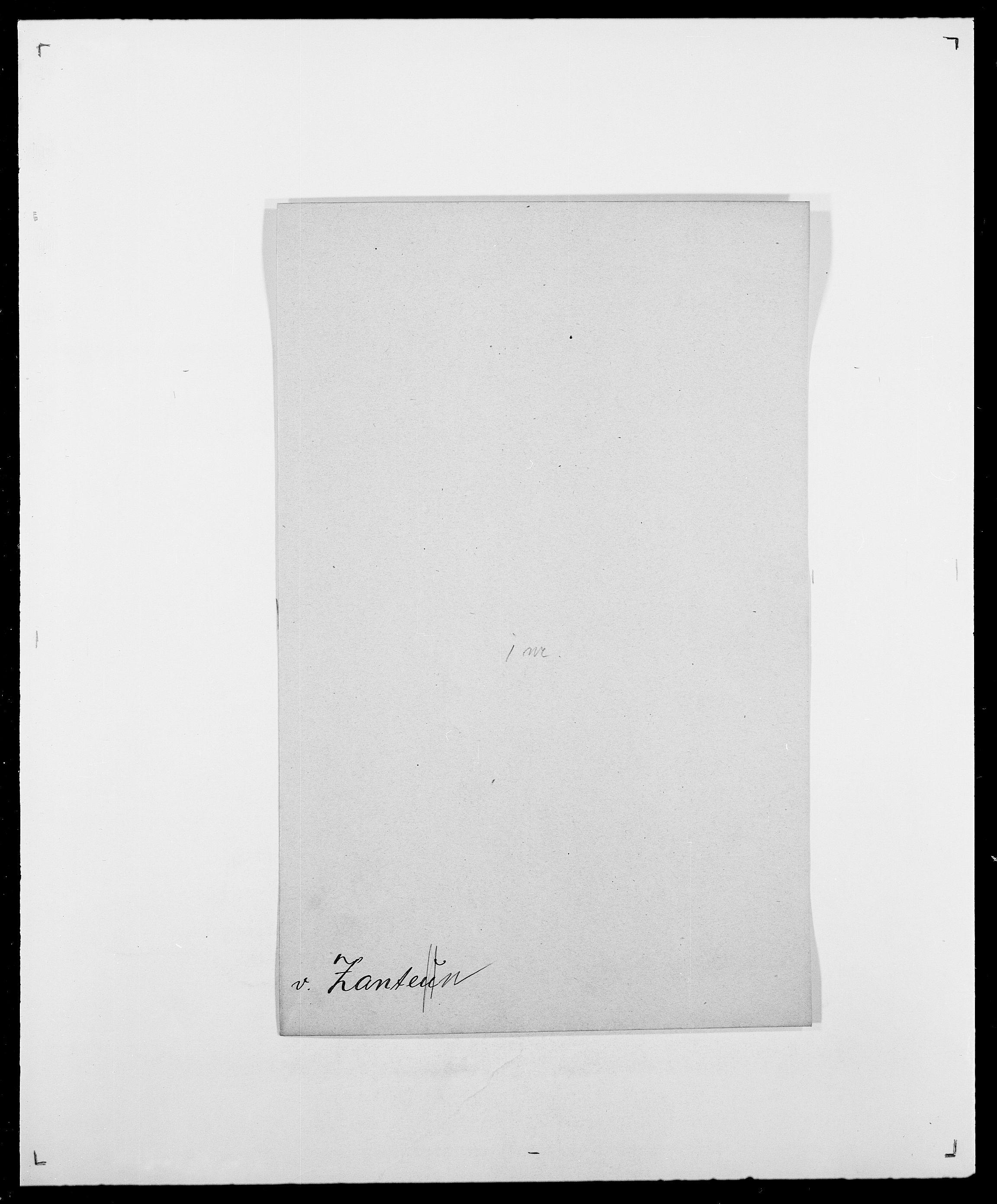 SAO, Delgobe, Charles Antoine - samling, D/Da/L0043: Wulfsberg - v. Zanten, s. 92