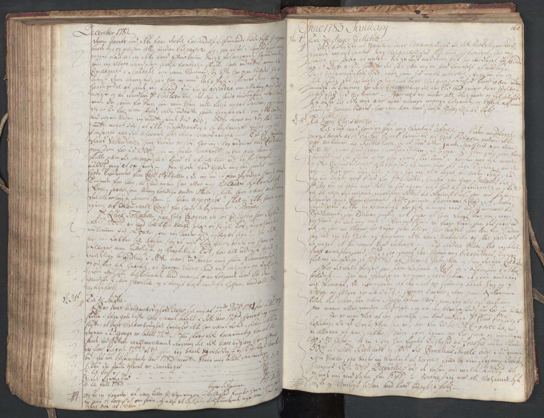 SAST, Pa 0003 - Ploug & Sundt, handelshuset, B/L0004: Kopibok, 1780-1784, s. 159b-160a