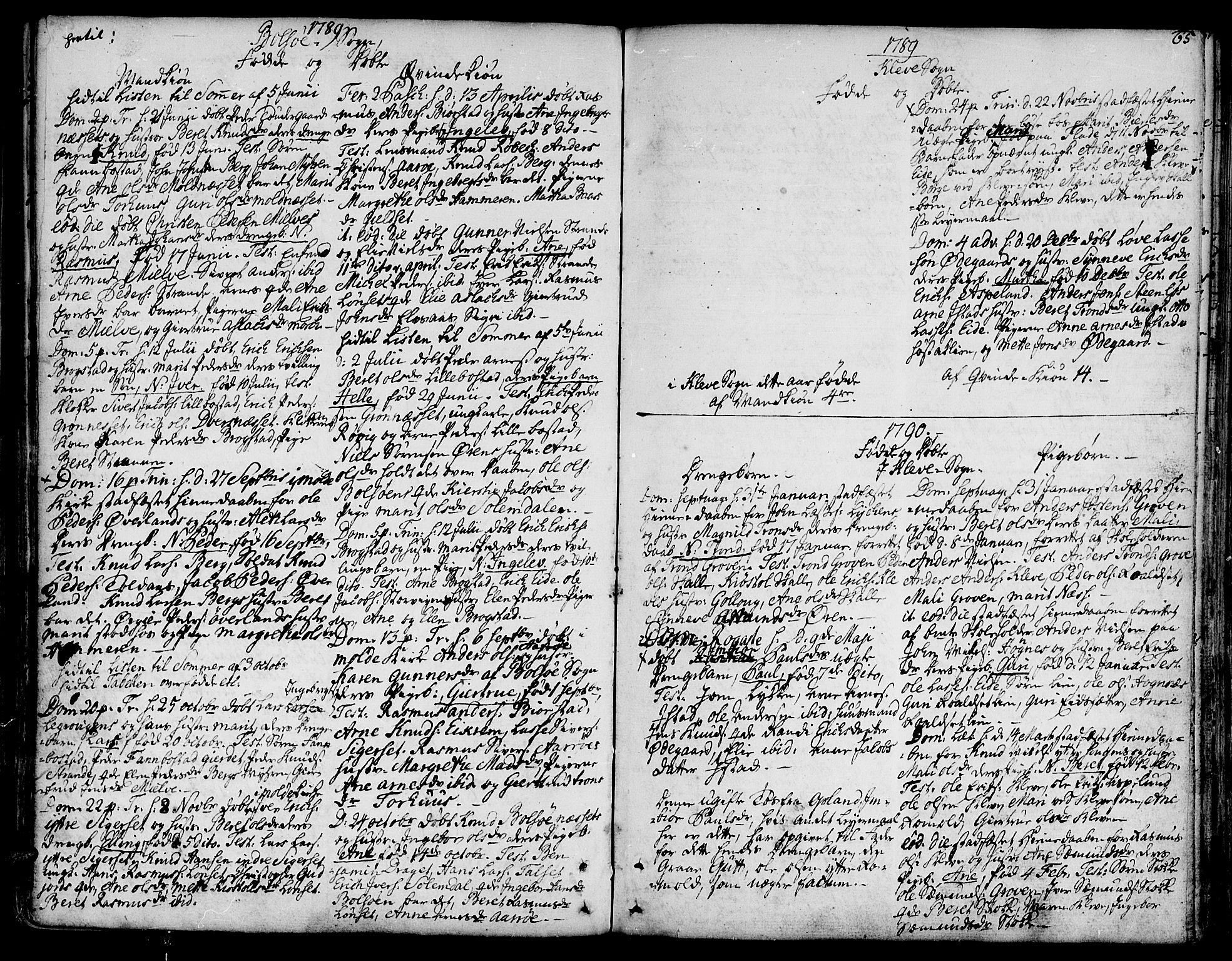 SAT, Ministerialprotokoller, klokkerbøker og fødselsregistre - Møre og Romsdal, 555/L0648: Ministerialbok nr. 555A01, 1759-1793, s. 65