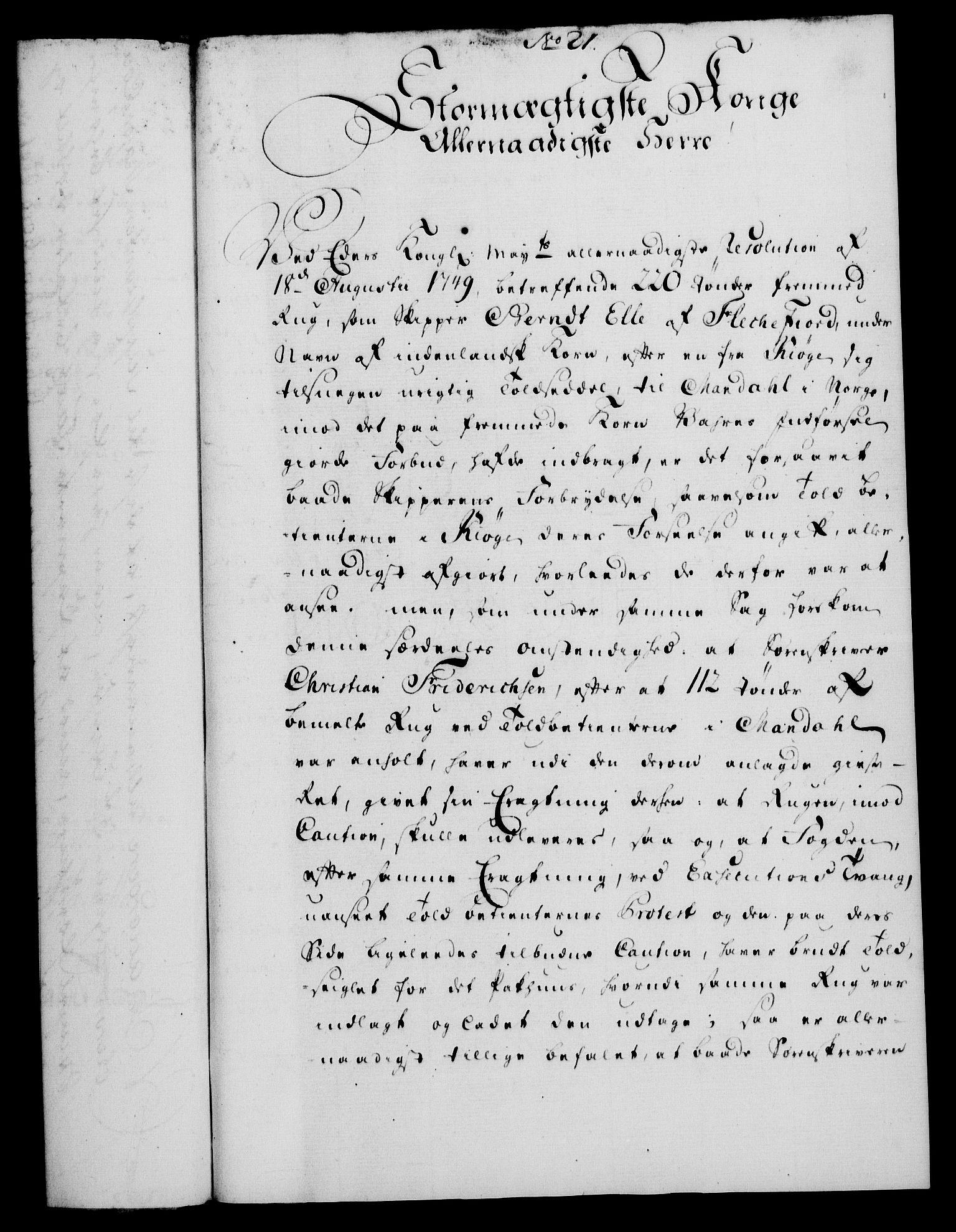 RA, Rentekammeret, Kammerkanselliet, G/Gf/Gfa/L0034: Norsk relasjons- og resolusjonsprotokoll (merket RK 52.34), 1752, s. 114