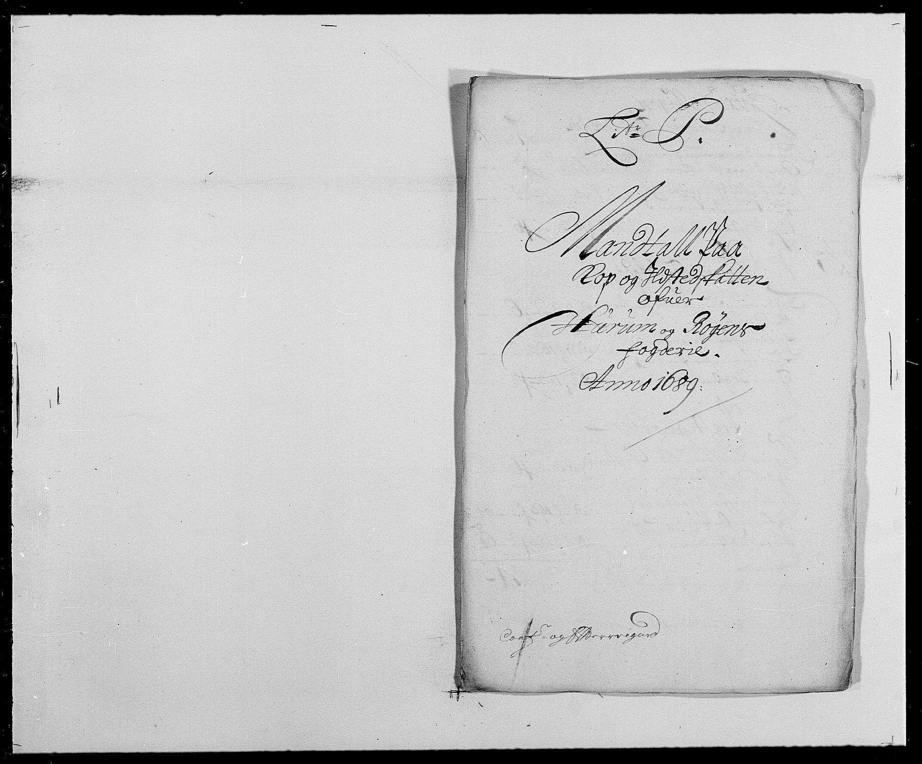 RA, Rentekammeret inntil 1814, Reviderte regnskaper, Fogderegnskap, R29/L1693: Fogderegnskap Hurum og Røyken, 1688-1693, s. 131