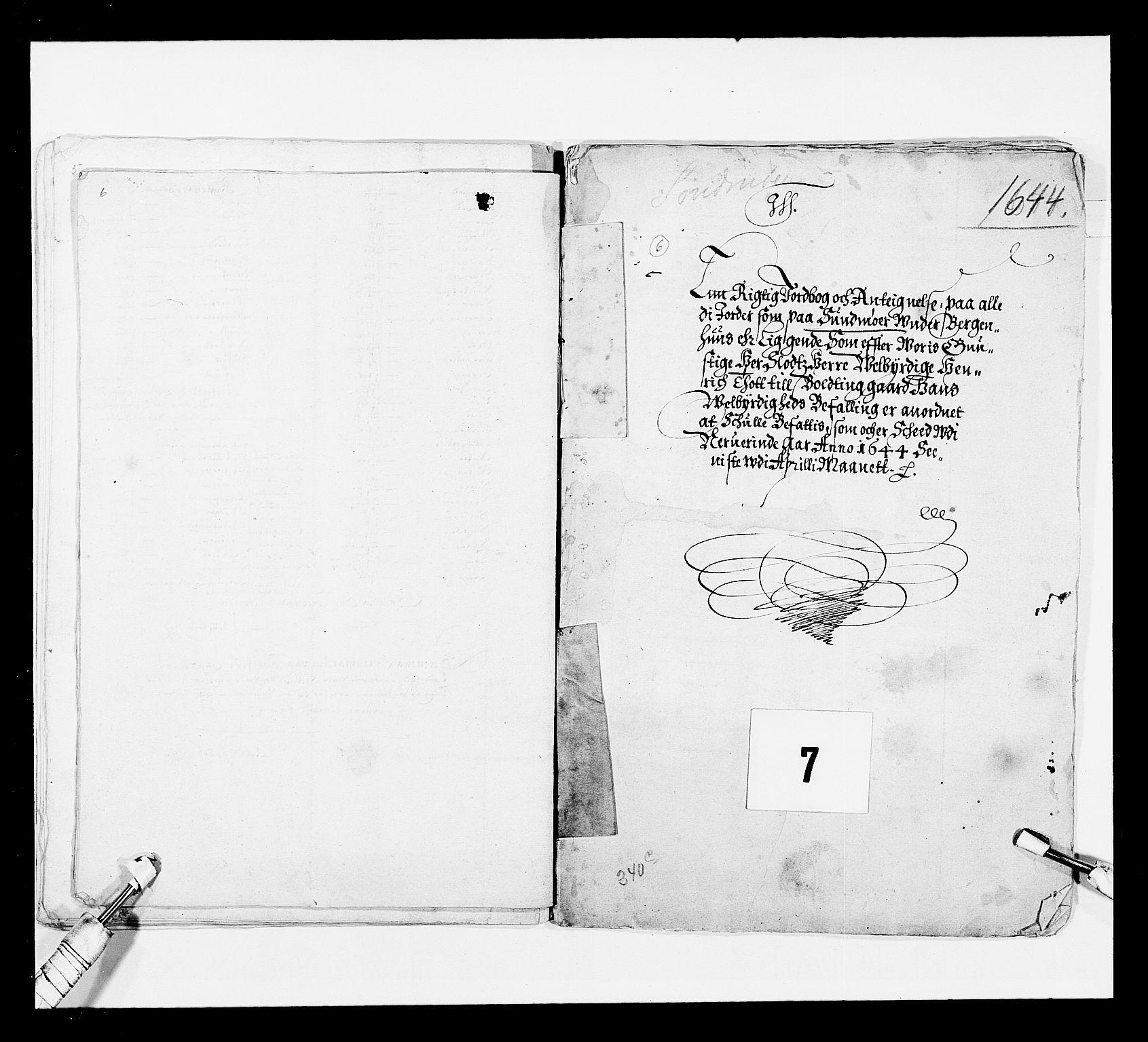 RA, Stattholderembetet 1572-1771, Ek/L0024: Jordebøker 1633-1658:, 1644, s. 49