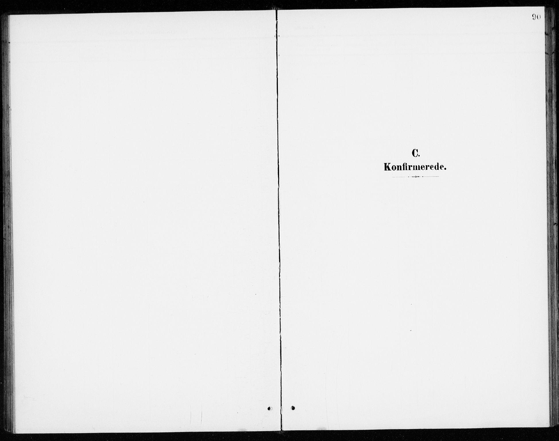 SAO, Gjerdrum prestekontor Kirkebøker, G/Gb/L0001: Klokkerbok nr. II 1, 1901-1944, s. 90