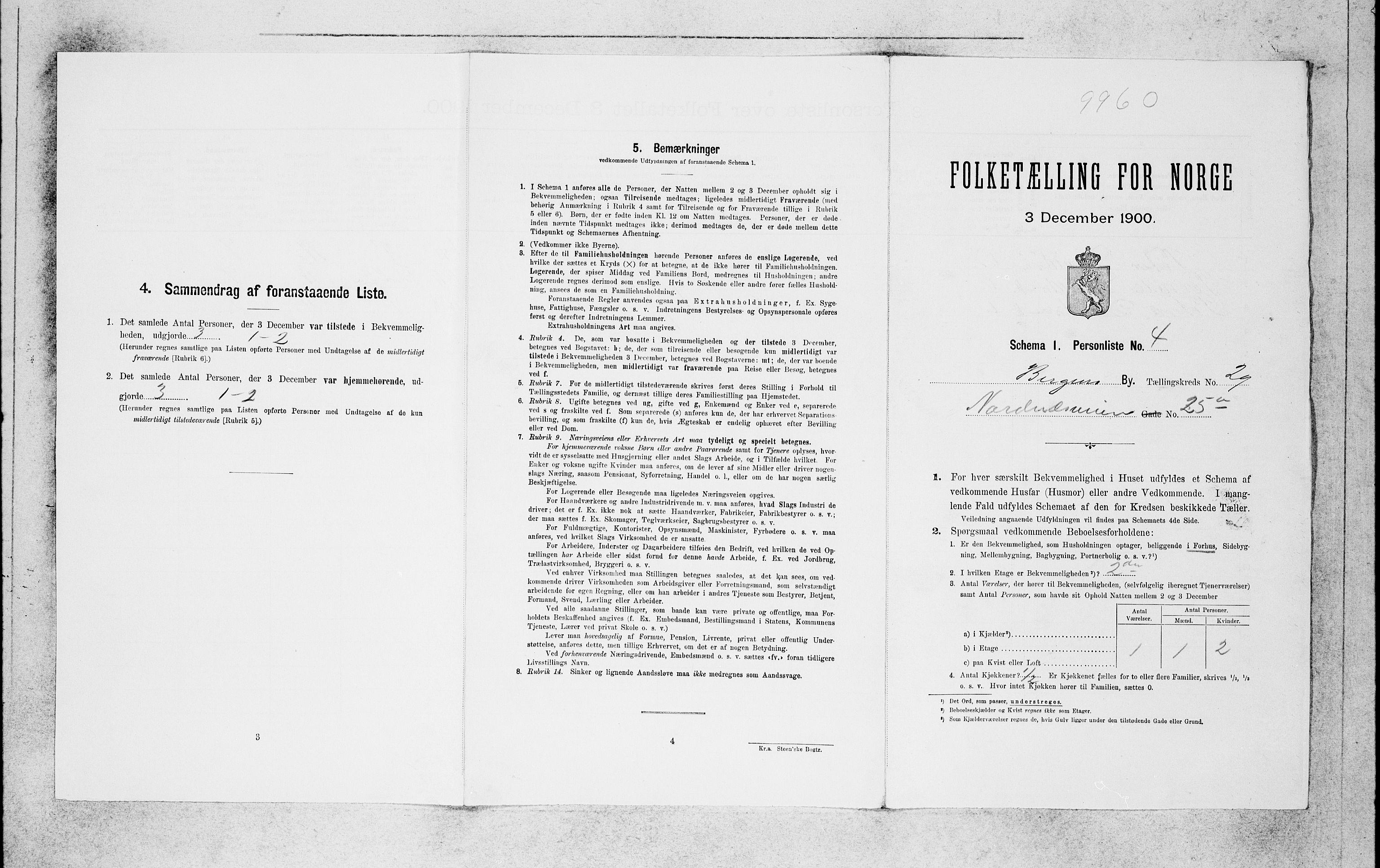 SAB, Folketelling 1900 for 1301 Bergen kjøpstad, 1900, s. 6200