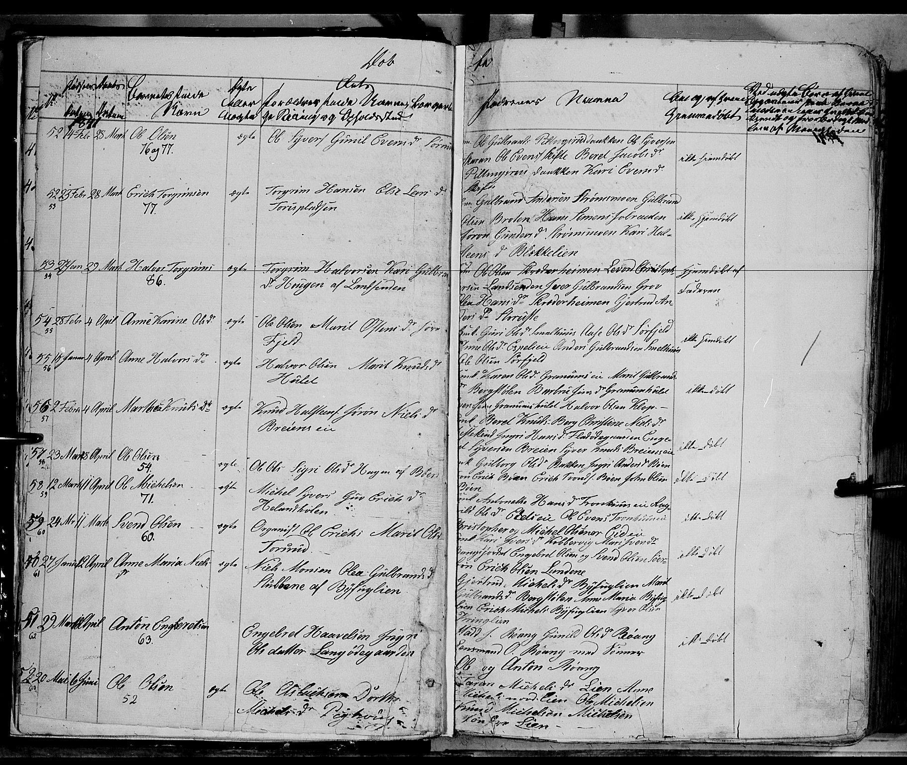 SAH, Sør-Aurdal prestekontor, Ministerialbok nr. 4, 1841-1849, s. 11-12