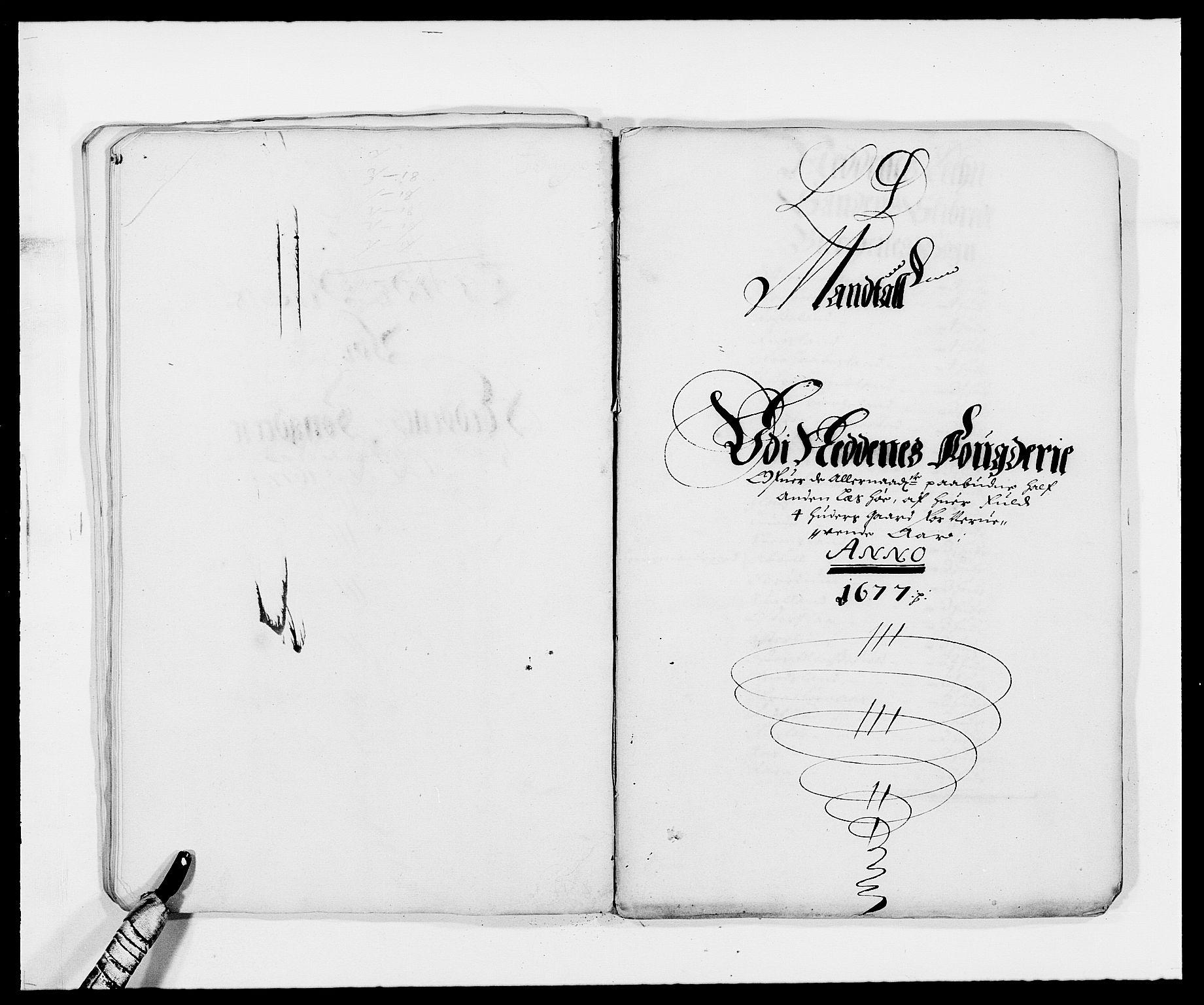 RA, Rentekammeret inntil 1814, Reviderte regnskaper, Fogderegnskap, R39/L2302: Fogderegnskap Nedenes, 1677-1678, s. 93