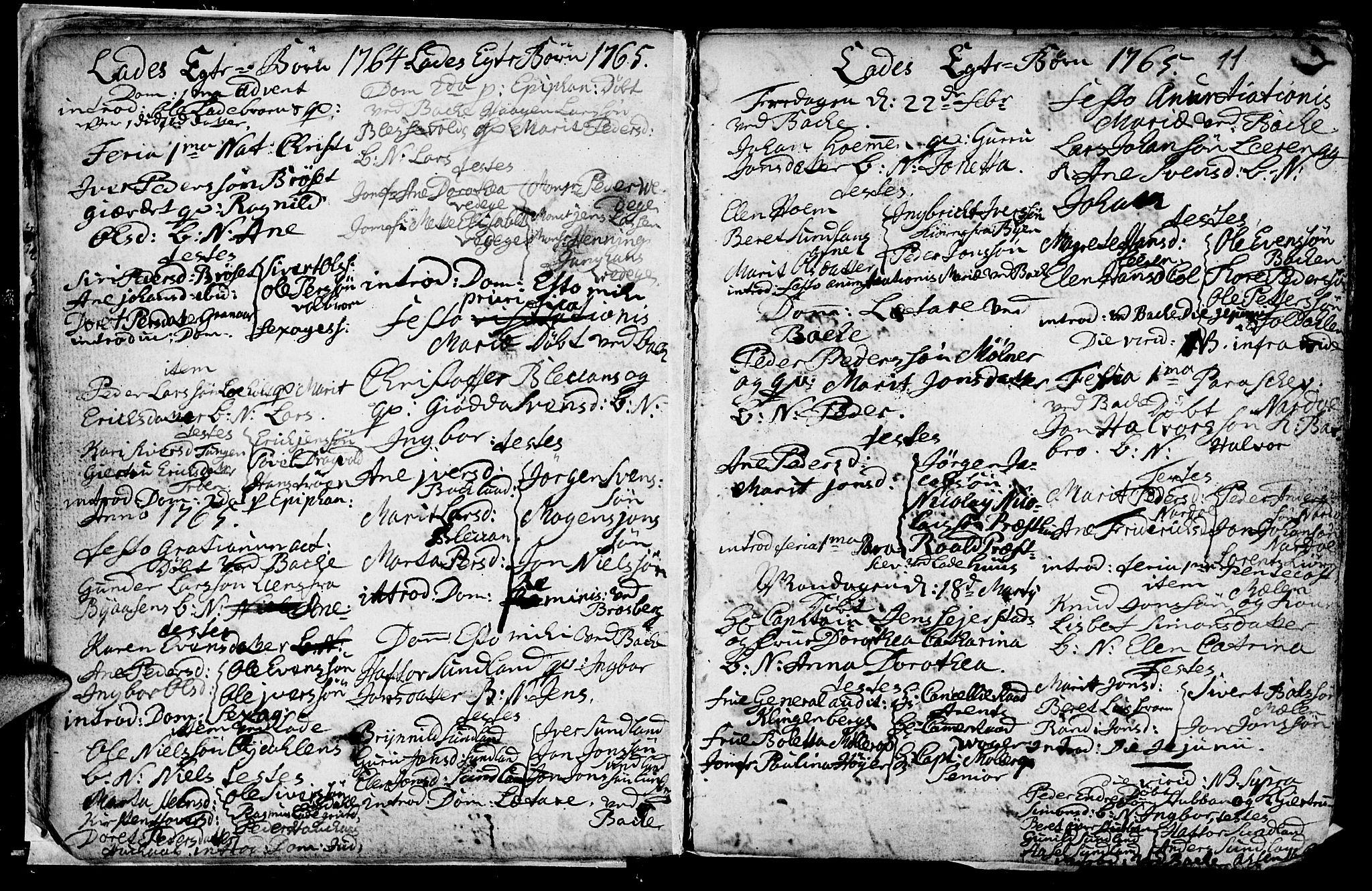 SAT, Ministerialprotokoller, klokkerbøker og fødselsregistre - Sør-Trøndelag, 606/L0305: Klokkerbok nr. 606C01, 1757-1819, s. 11