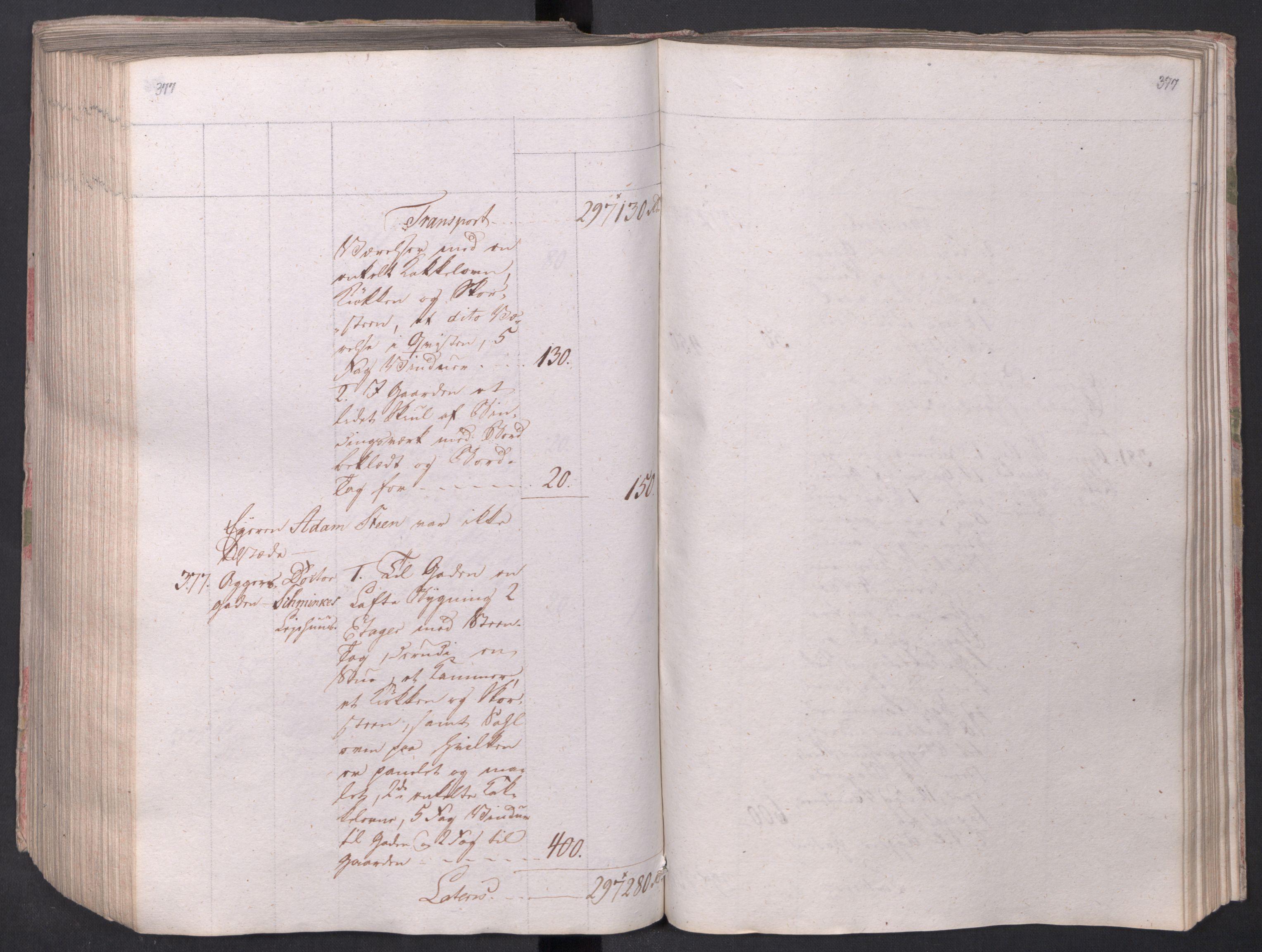 SAO, Kristiania stiftamt, I/Ia/L0015: Branntakster, 1797, s. 377