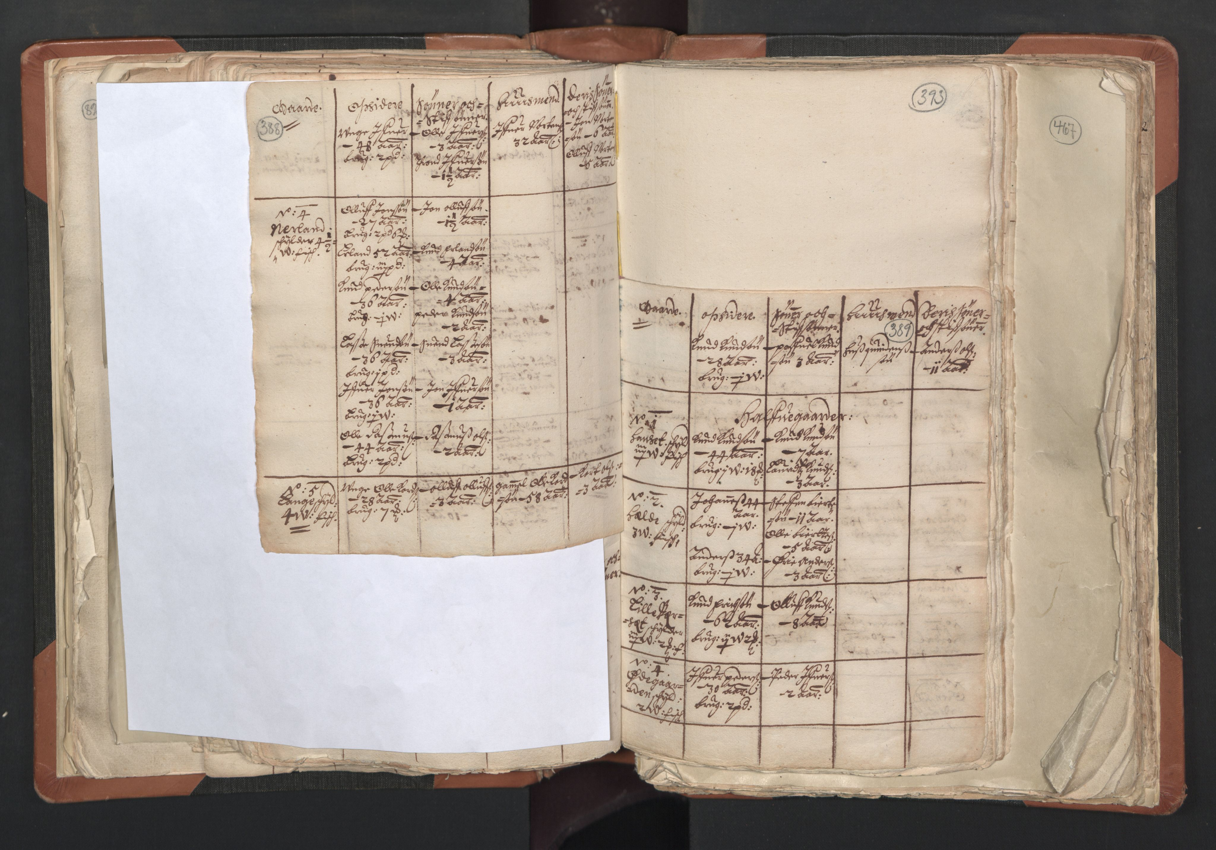 RA, Sogneprestenes manntall 1664-1666, nr. 27: Romsdal prosti, 1664-1666, s. 388-389