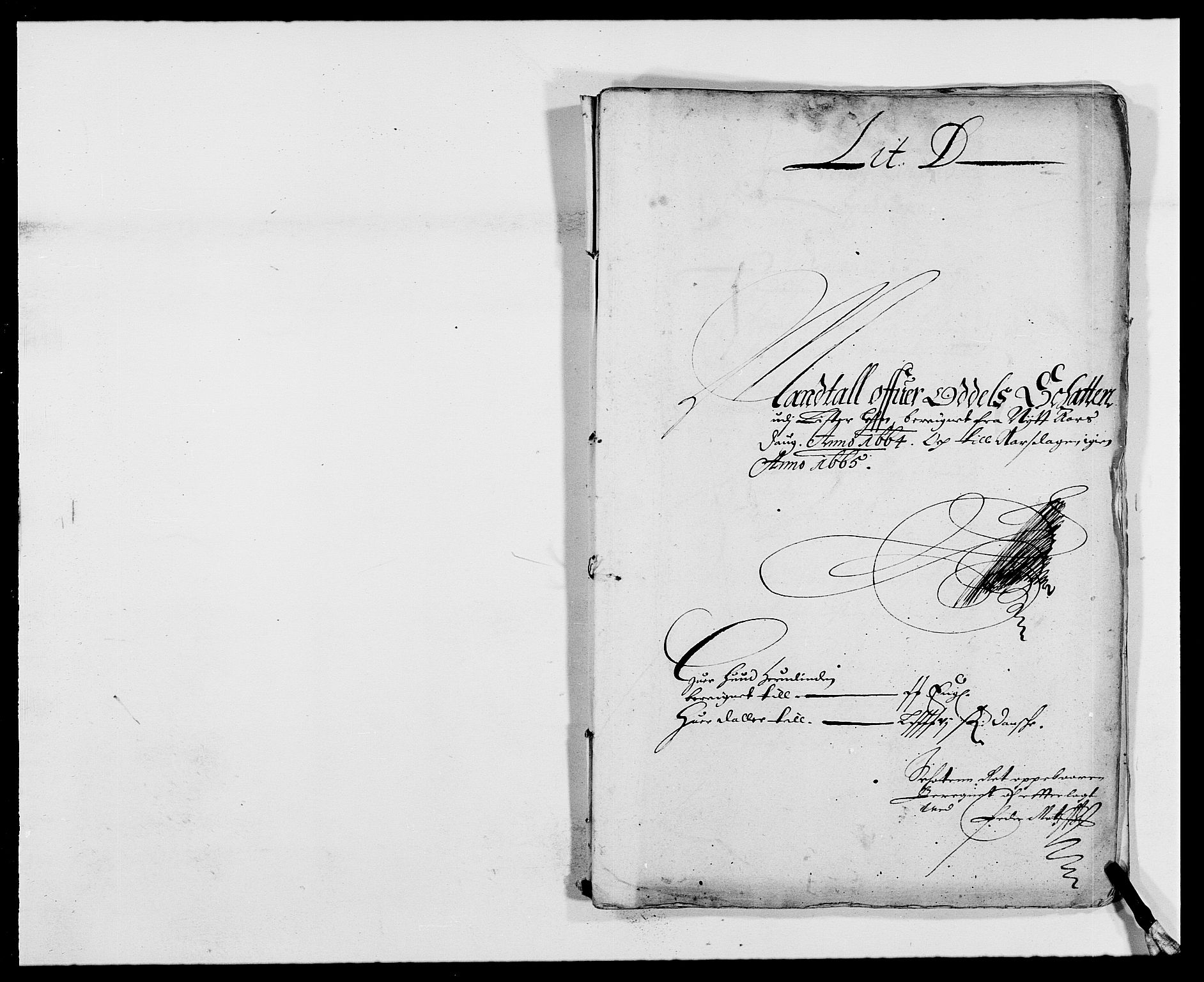RA, Rentekammeret inntil 1814, Reviderte regnskaper, Fogderegnskap, R41/L2523: Fogderegnskap Lista, 1663-1664, s. 269