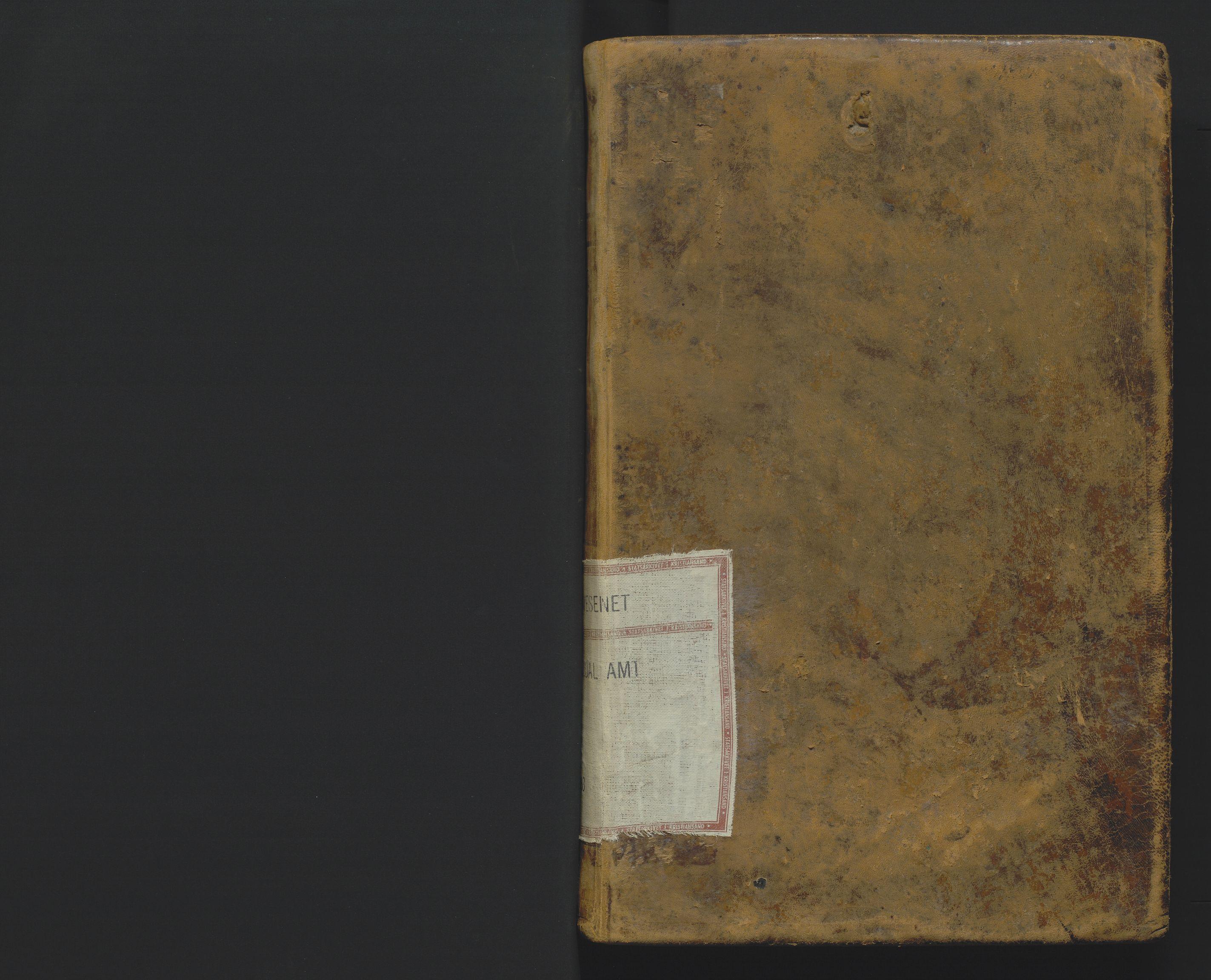 SAK, Utskiftningsformannen i Lister og Mandal amt, F/Fa/Faa/L0002: Utskiftningsprotokoll med register nr 2, 1859-1863