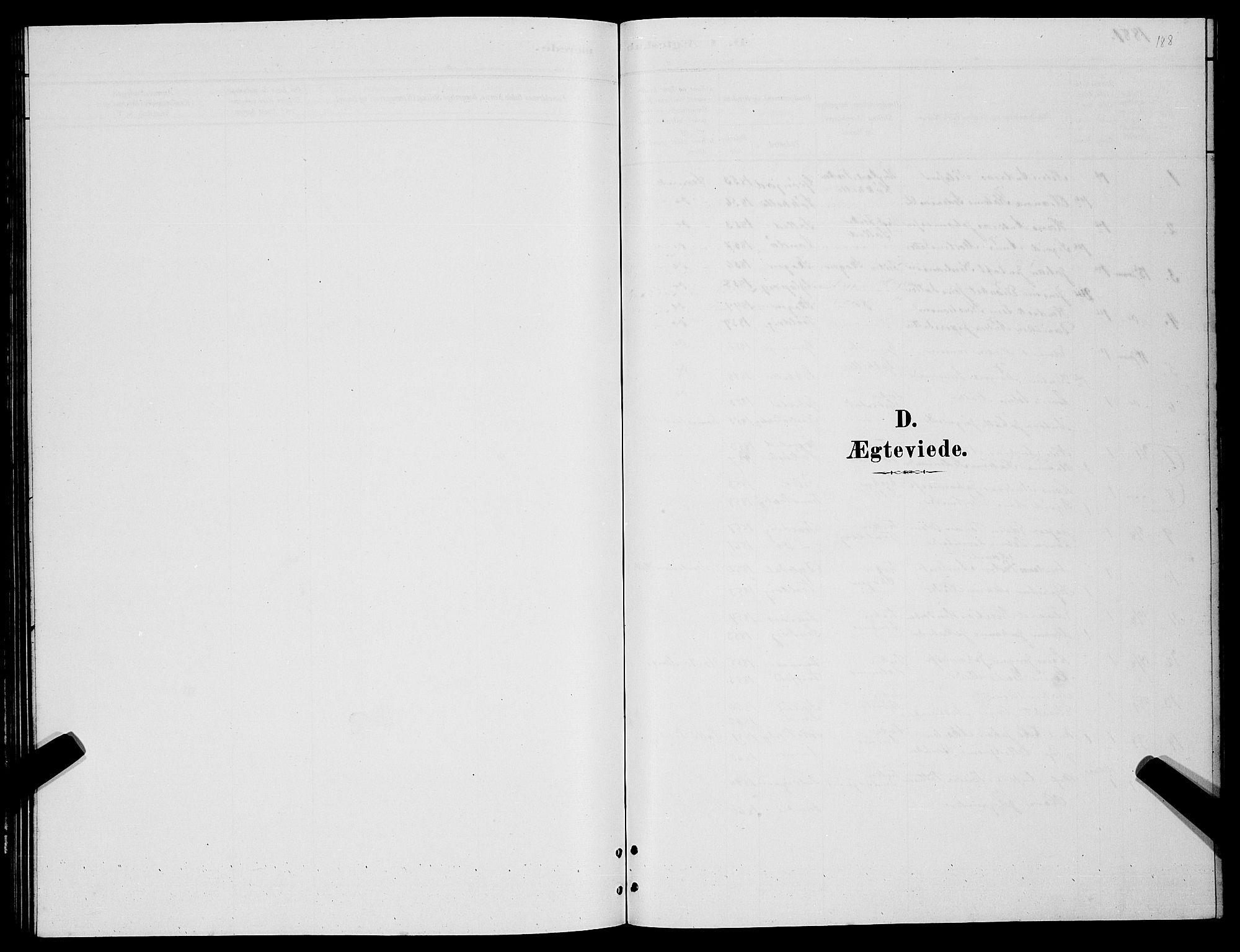 SATØ, Lenvik sokneprestembete, H/Ha: Klokkerbok nr. 6, 1881-1889, s. 188