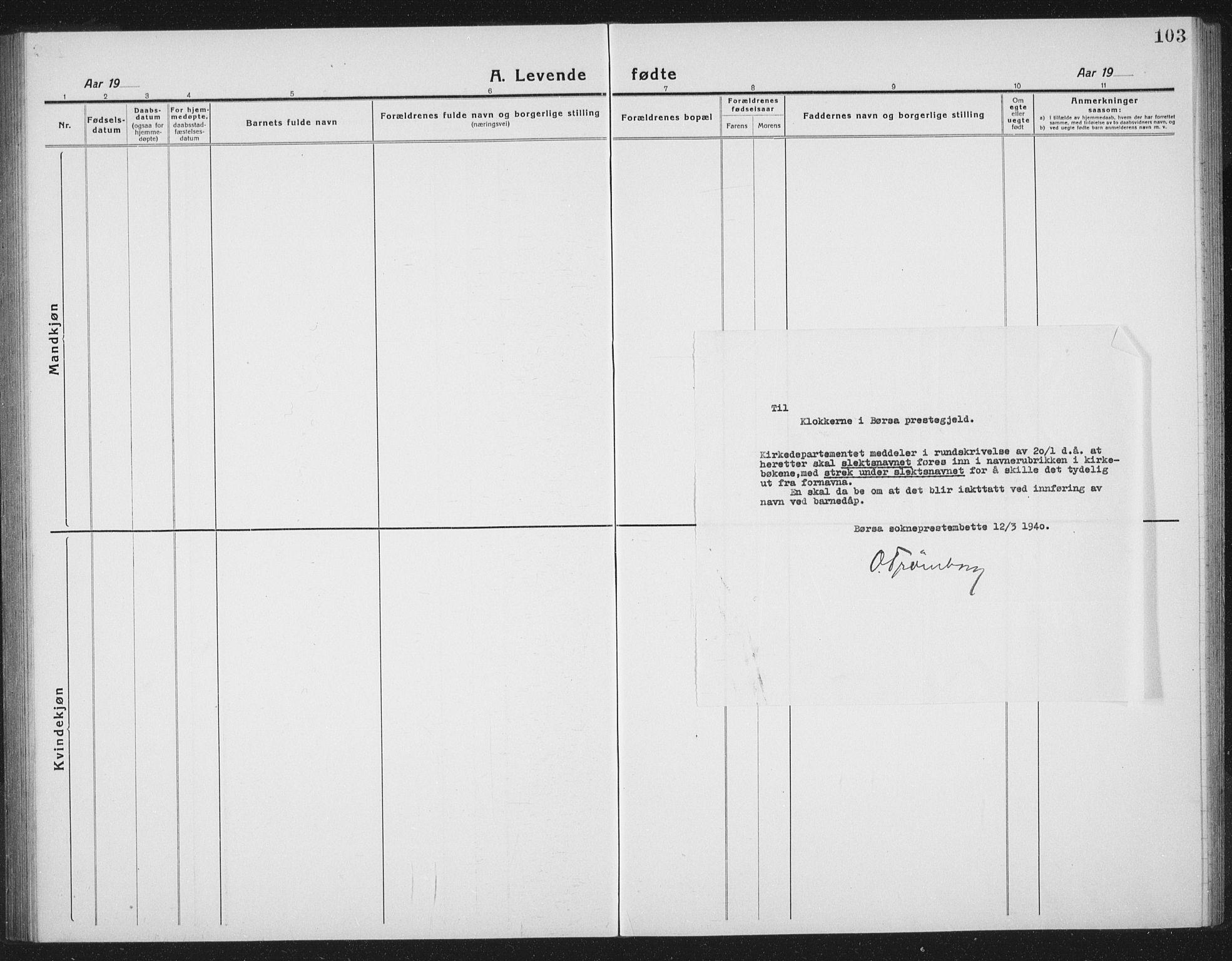 SAT, Ministerialprotokoller, klokkerbøker og fødselsregistre - Sør-Trøndelag, 665/L0778: Klokkerbok nr. 665C03, 1916-1938, s. 103