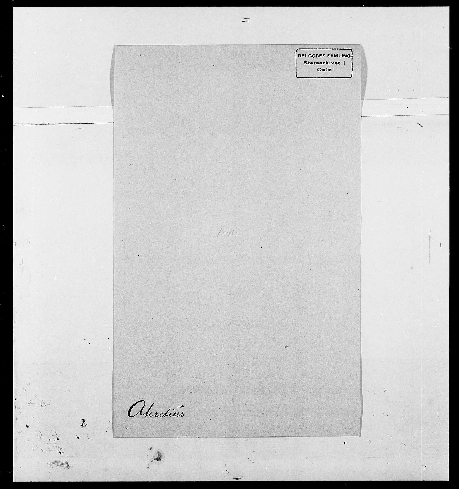 SAO, Delgobe, Charles Antoine - samling, D/Da/L0002: Anker, Ancher - Bauner, s. 494