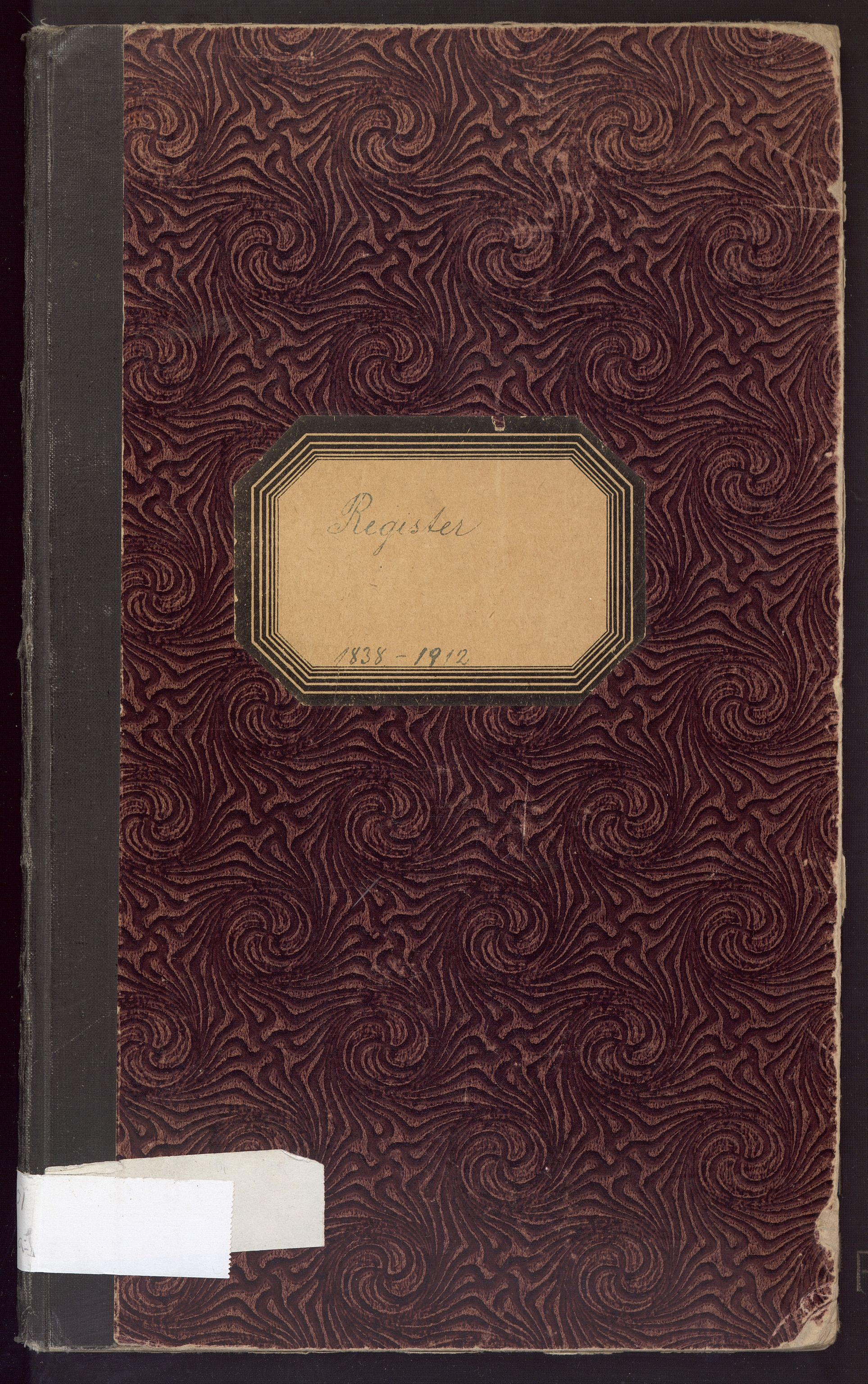 BBA, Fana kommune. Formannskapet, A/Aa, 1838-1913