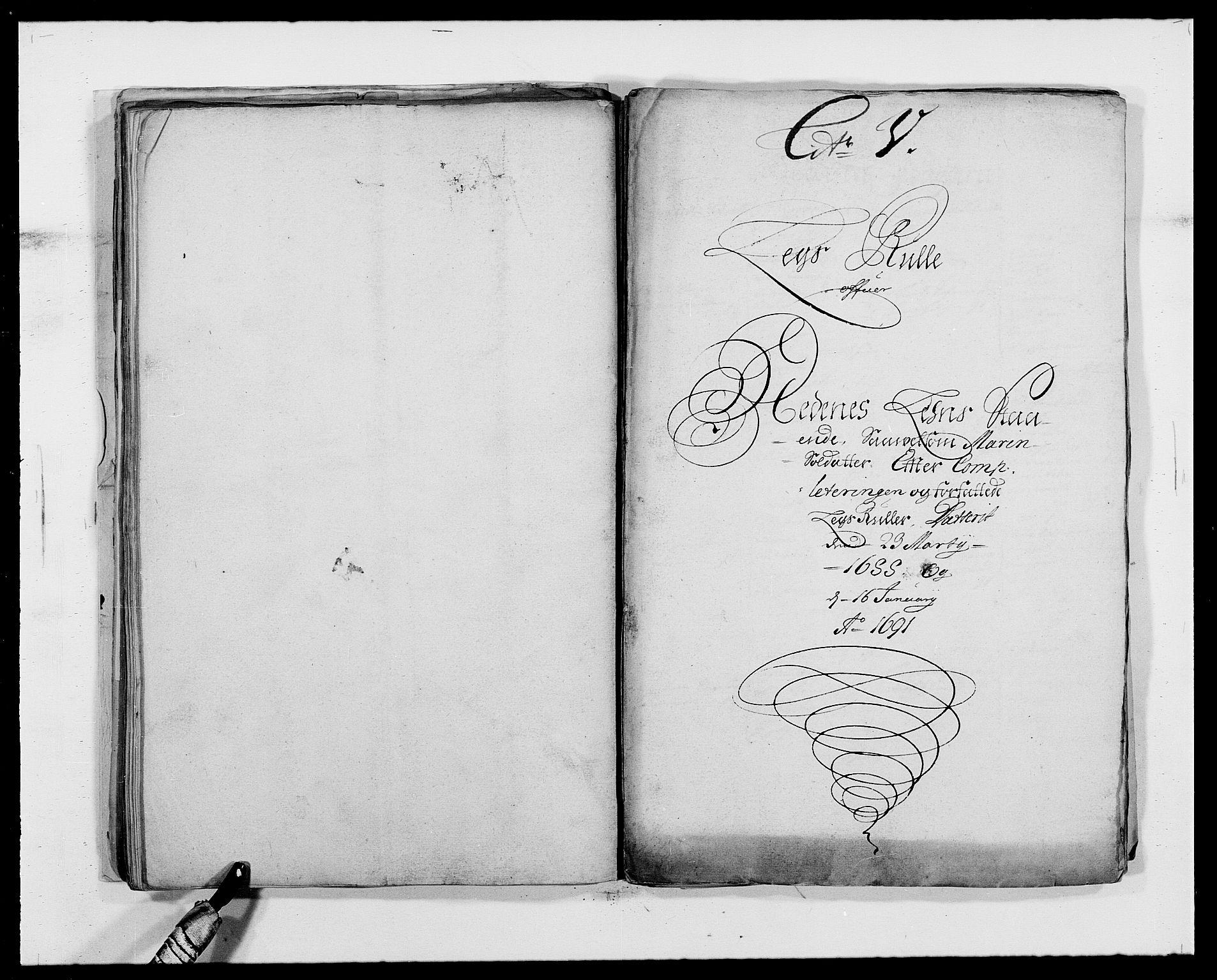 RA, Rentekammeret inntil 1814, Reviderte regnskaper, Fogderegnskap, R39/L2311: Fogderegnskap Nedenes, 1690-1692, s. 81