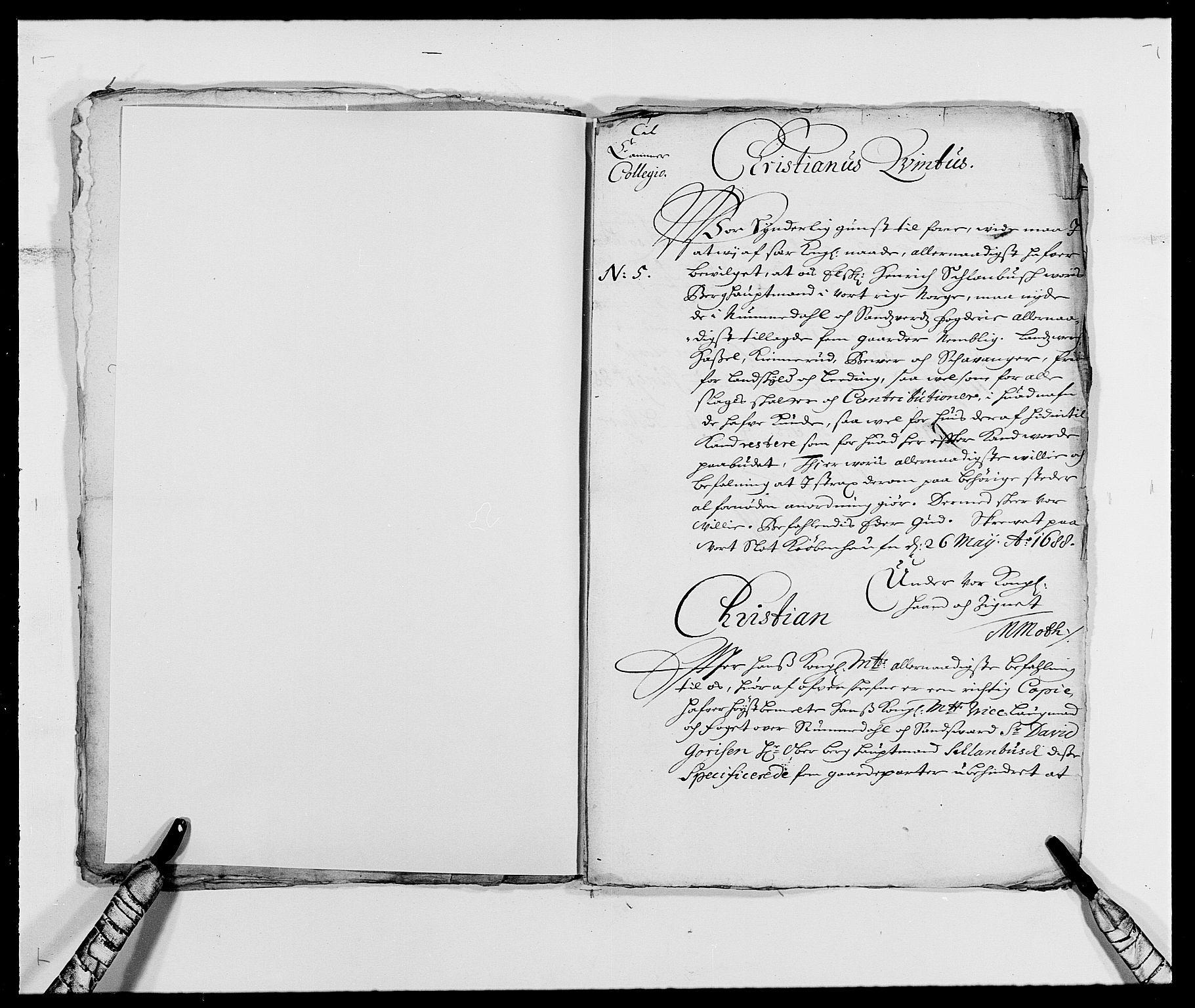 RA, Rentekammeret inntil 1814, Reviderte regnskaper, Fogderegnskap, R24/L1574: Fogderegnskap Numedal og Sandsvær, 1688-1691, s. 16
