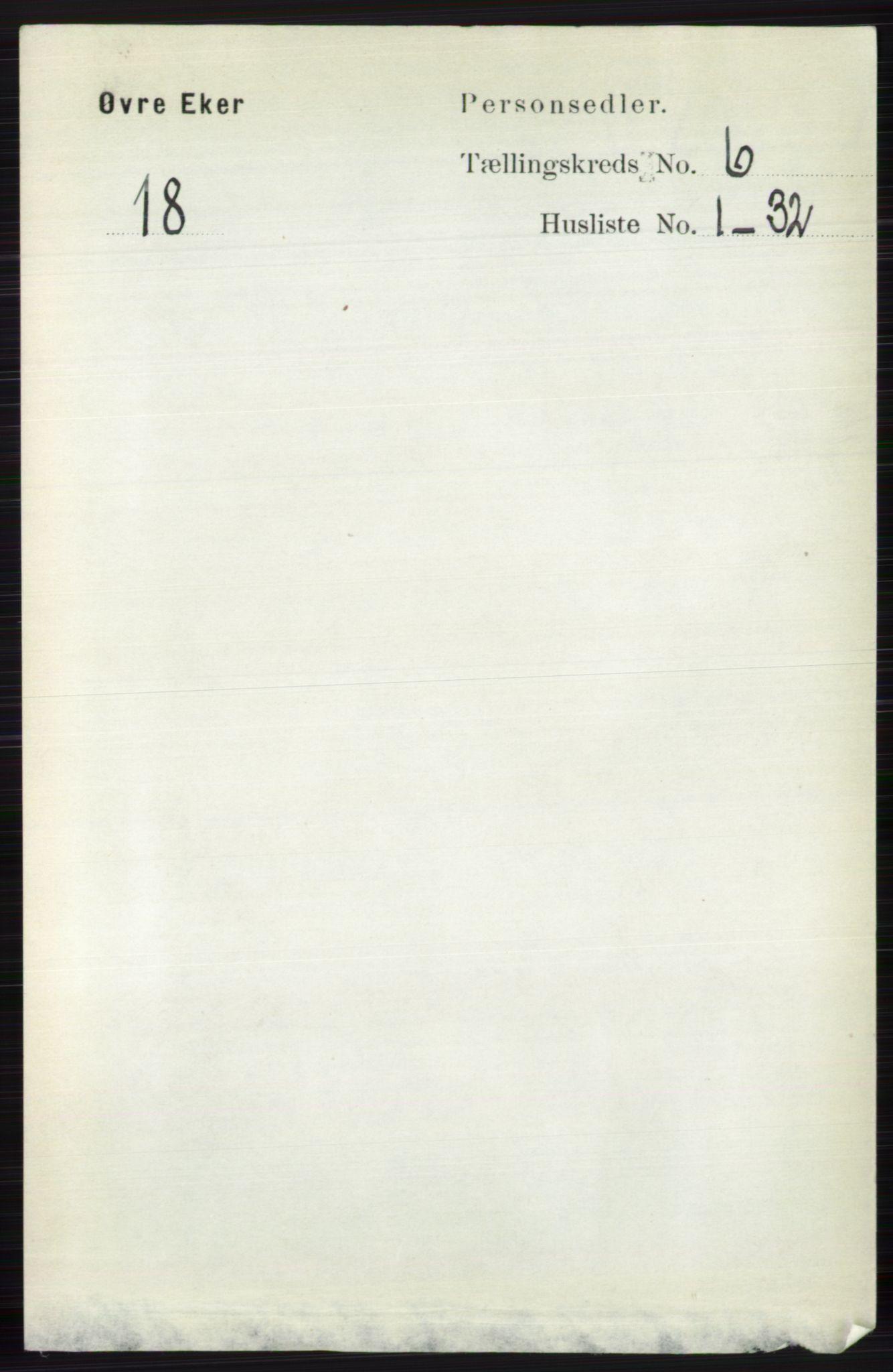RA, Folketelling 1891 for 0624 Øvre Eiker herred, 1891, s. 2238