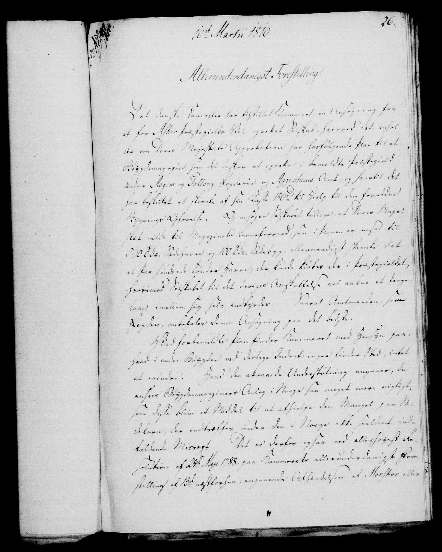 RA, Rentekammeret, Kammerkanselliet, G/Gf/Gfa/L0092: Norsk relasjons- og resolusjonsprotokoll (merket RK 52.92), 1810, s. 95