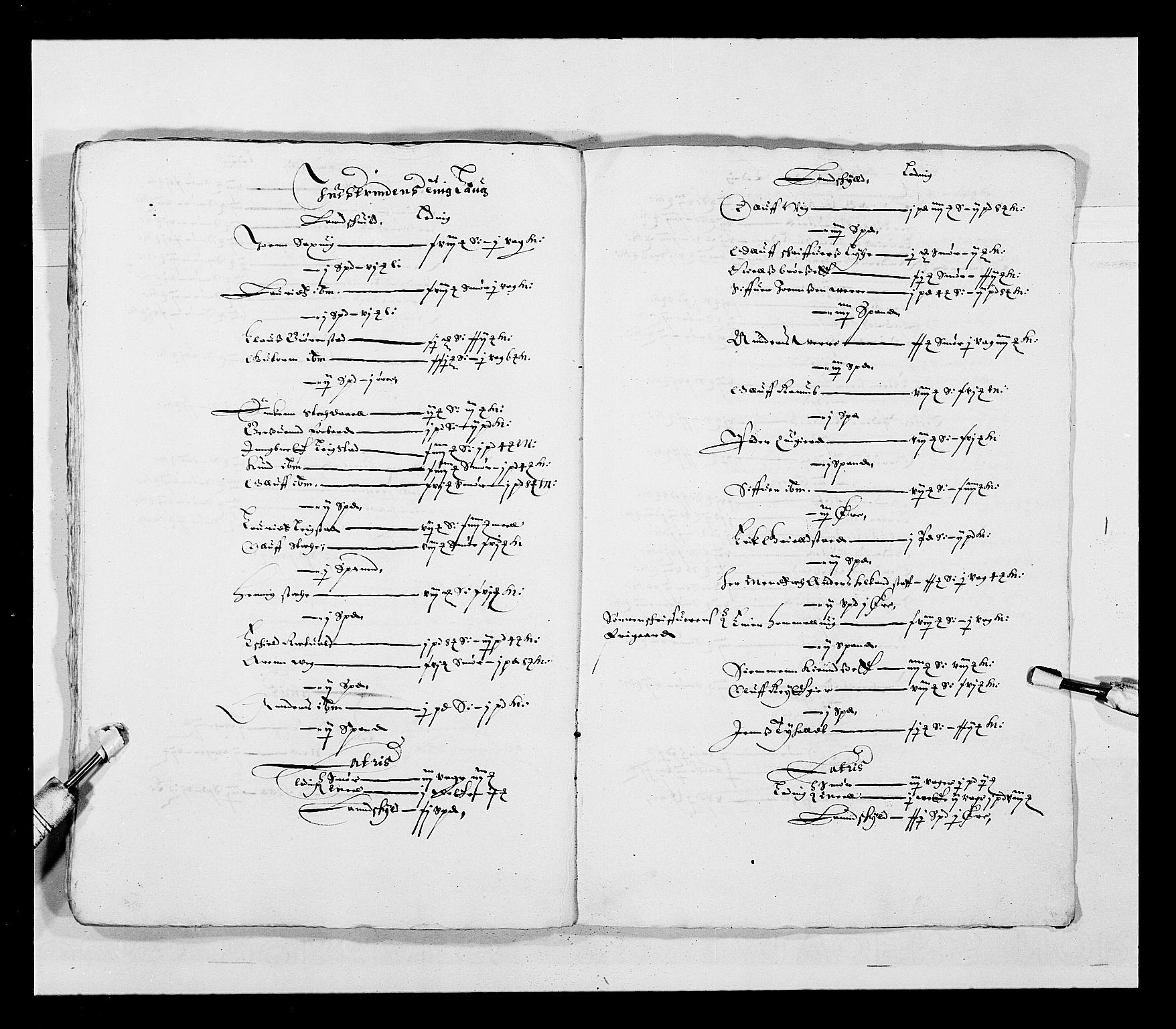 RA, Stattholderembetet 1572-1771, Ek/L0028: Jordebøker 1633-1658:, 1645-1646, s. 179