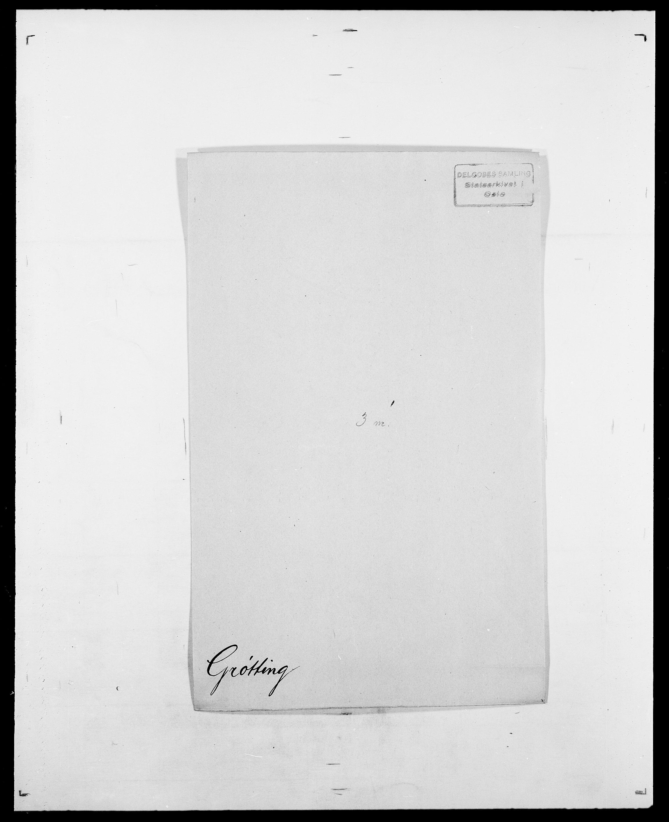 SAO, Delgobe, Charles Antoine - samling, D/Da/L0015: Grodtshilling - Halvorsæth, s. 312